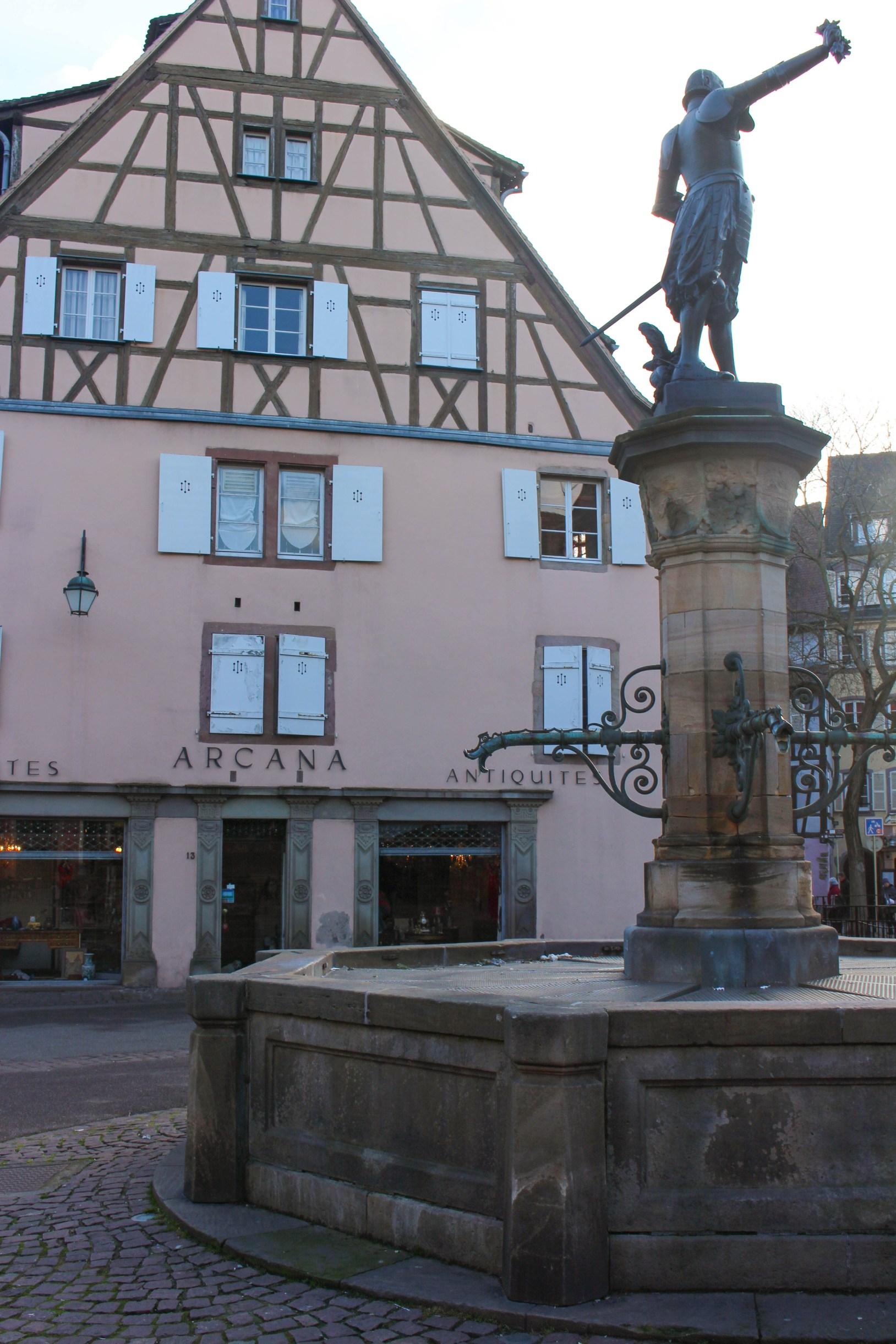 Schwendi Fountain Colmar, France Travel Guide