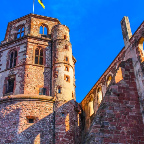 Exploring Heidelberg Castle in Heidelberg, Germany
