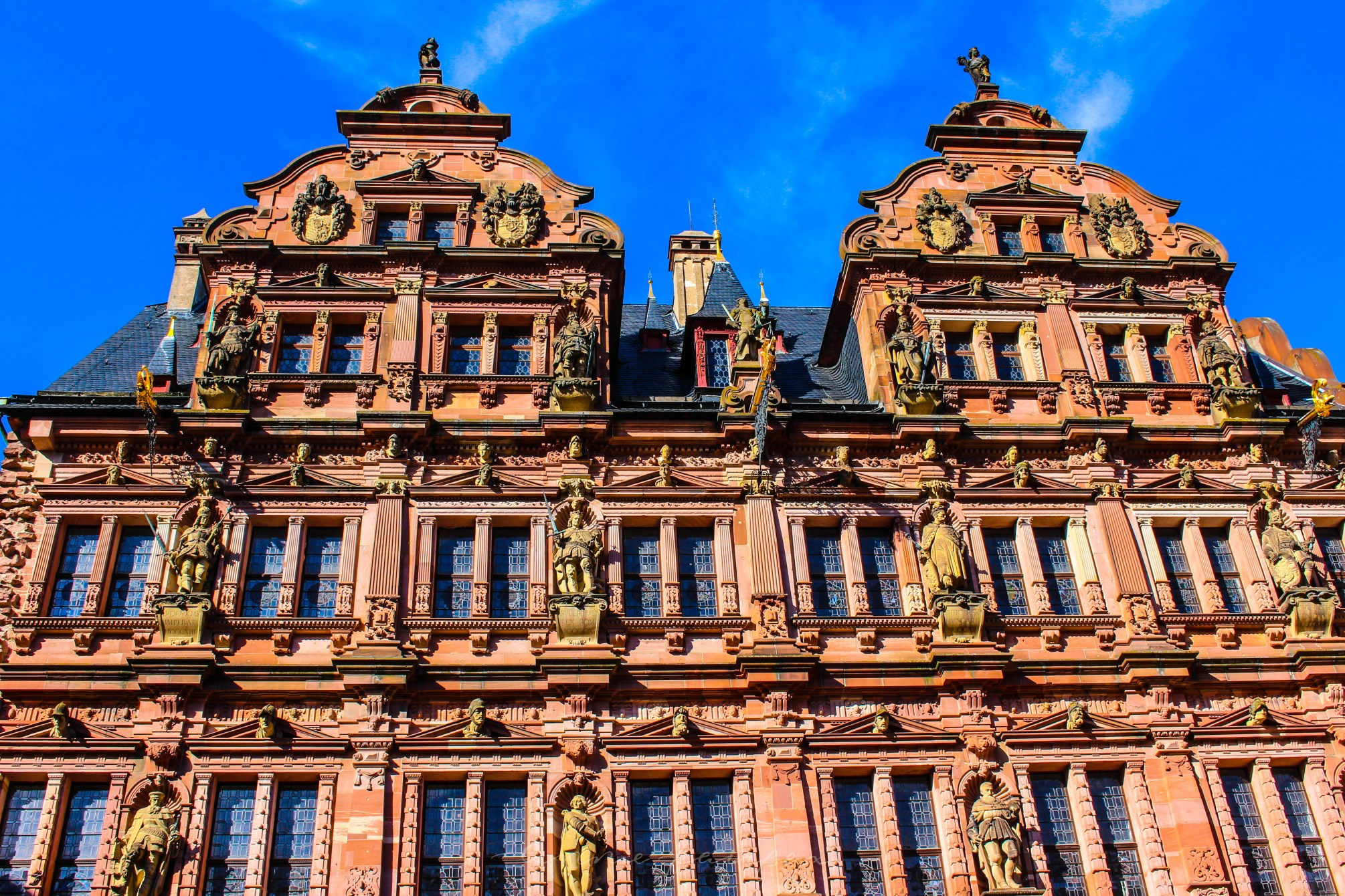 Heidelberg Castle in Heidelberg Germany German Architecture