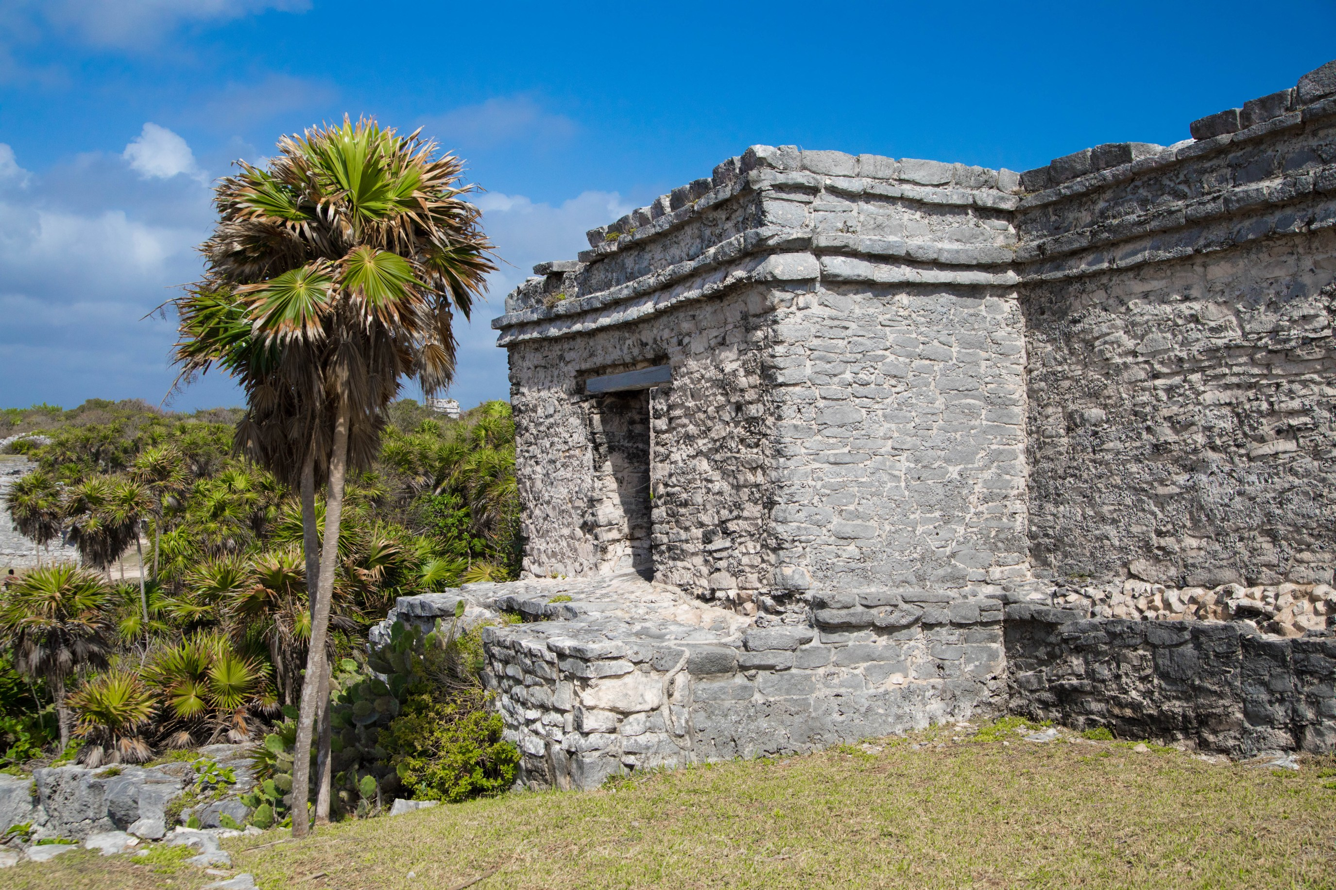 Ruins of Tulum at Tulum National Park Mexico