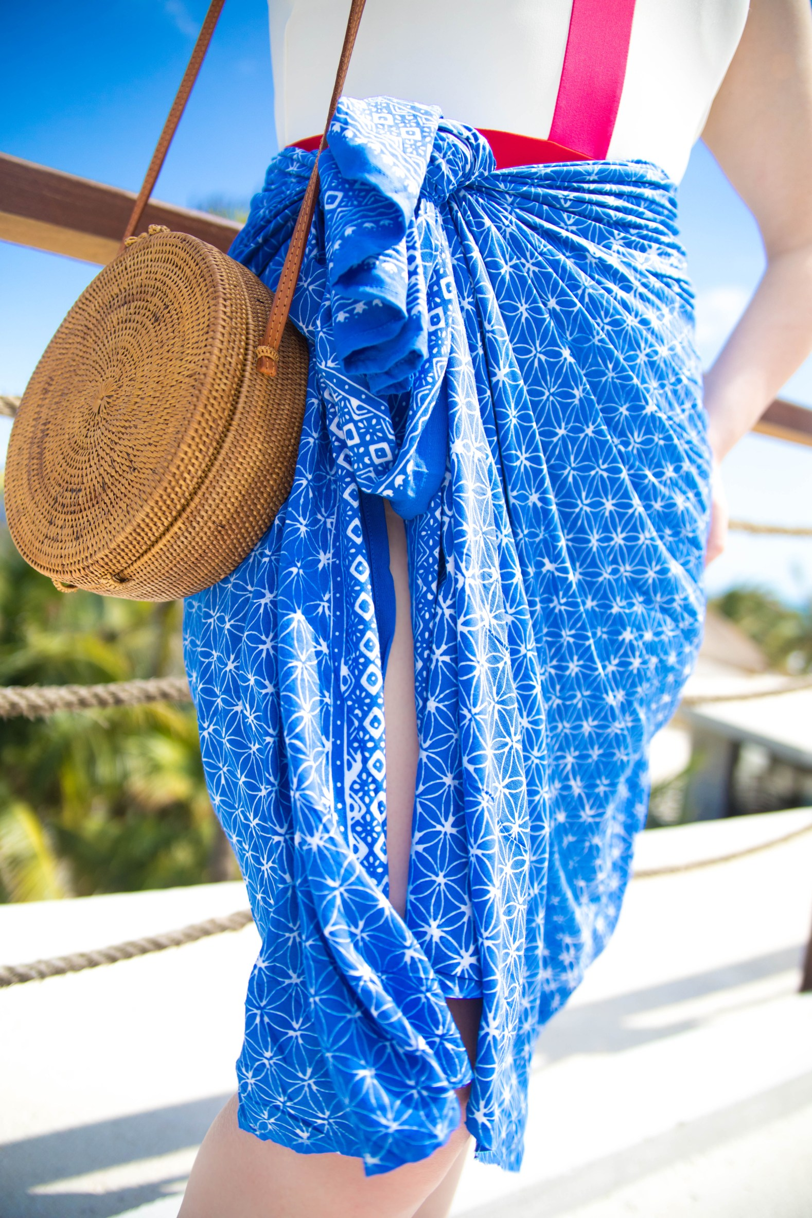 What I Wore in Tulum Summersalt Swim Lilly Pulitzer Eastland Shoes Nakd Swimwear Straw Bags