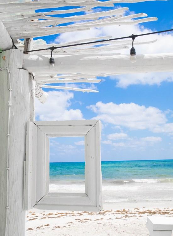 Tulum Beach Riviera Maya Caribbean Sea Mexico