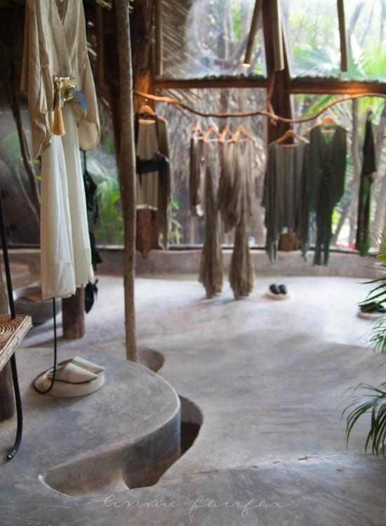 Zak Ik Store Inside Azulik Resort Tulum Mexico Kin Toh