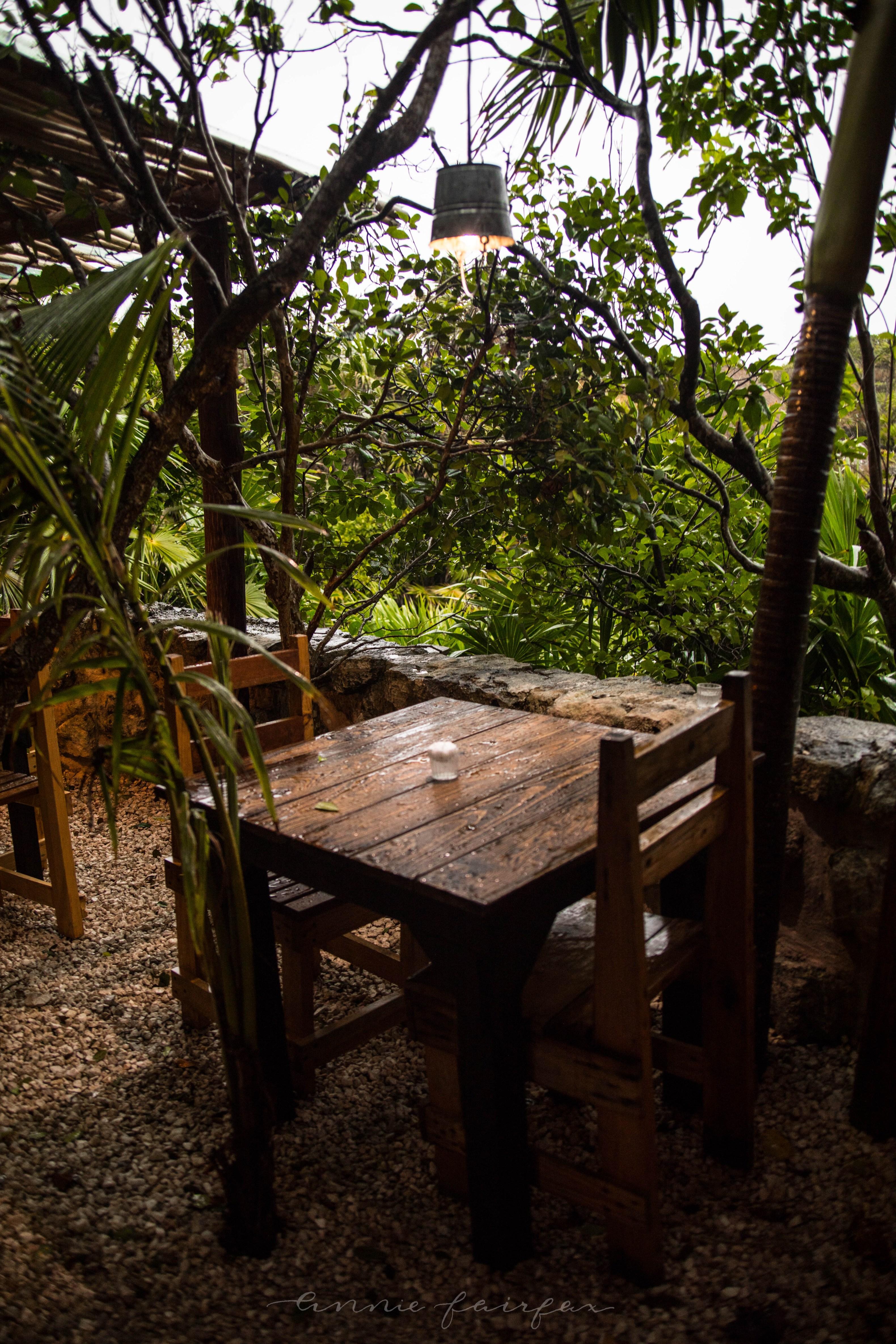 Luxury Restaurants Of The World Kitchen Table Tulum Annie Wears It - Kitchen table tulum