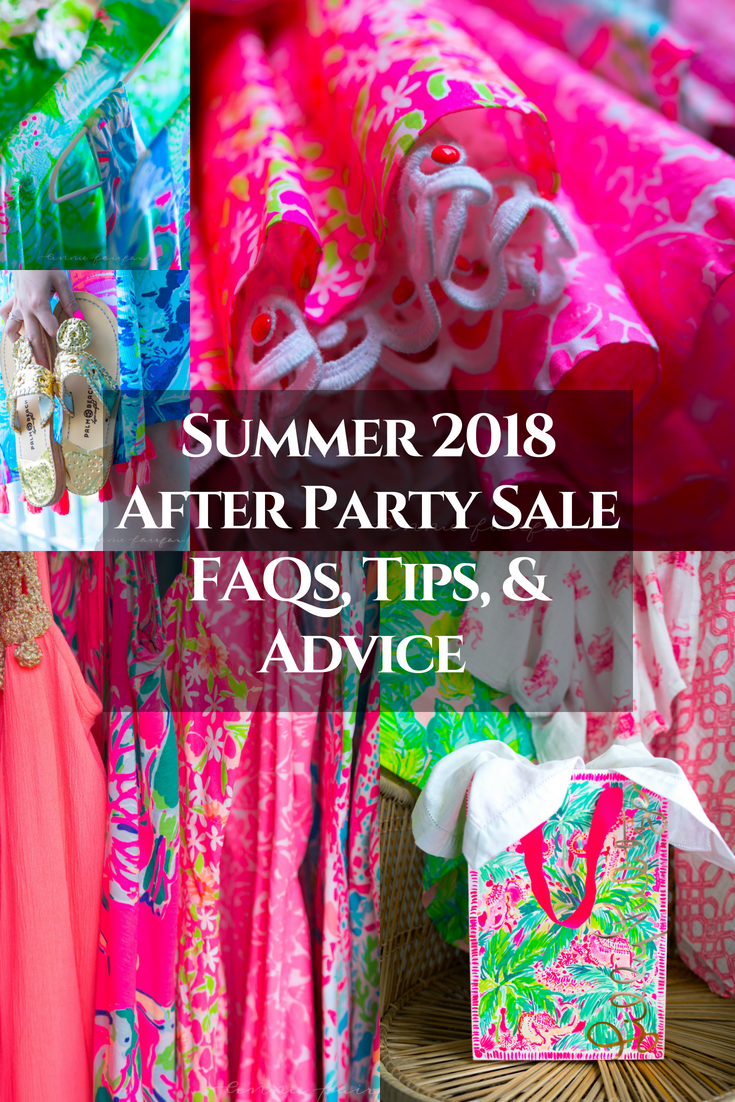 Summer 2018 After Party Sale