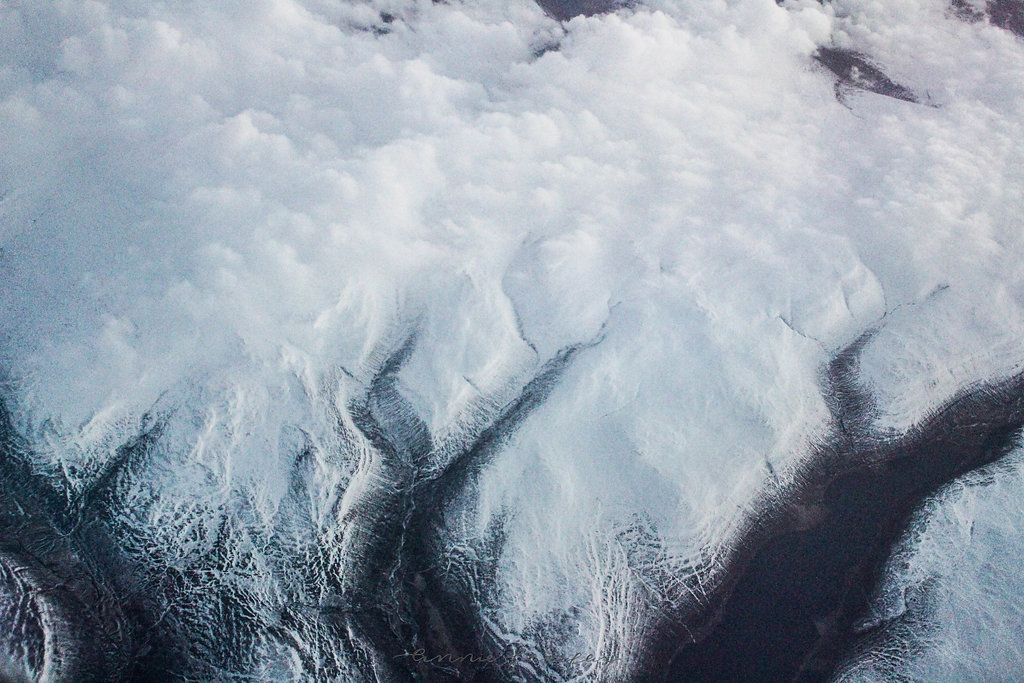Flying Above Greenland