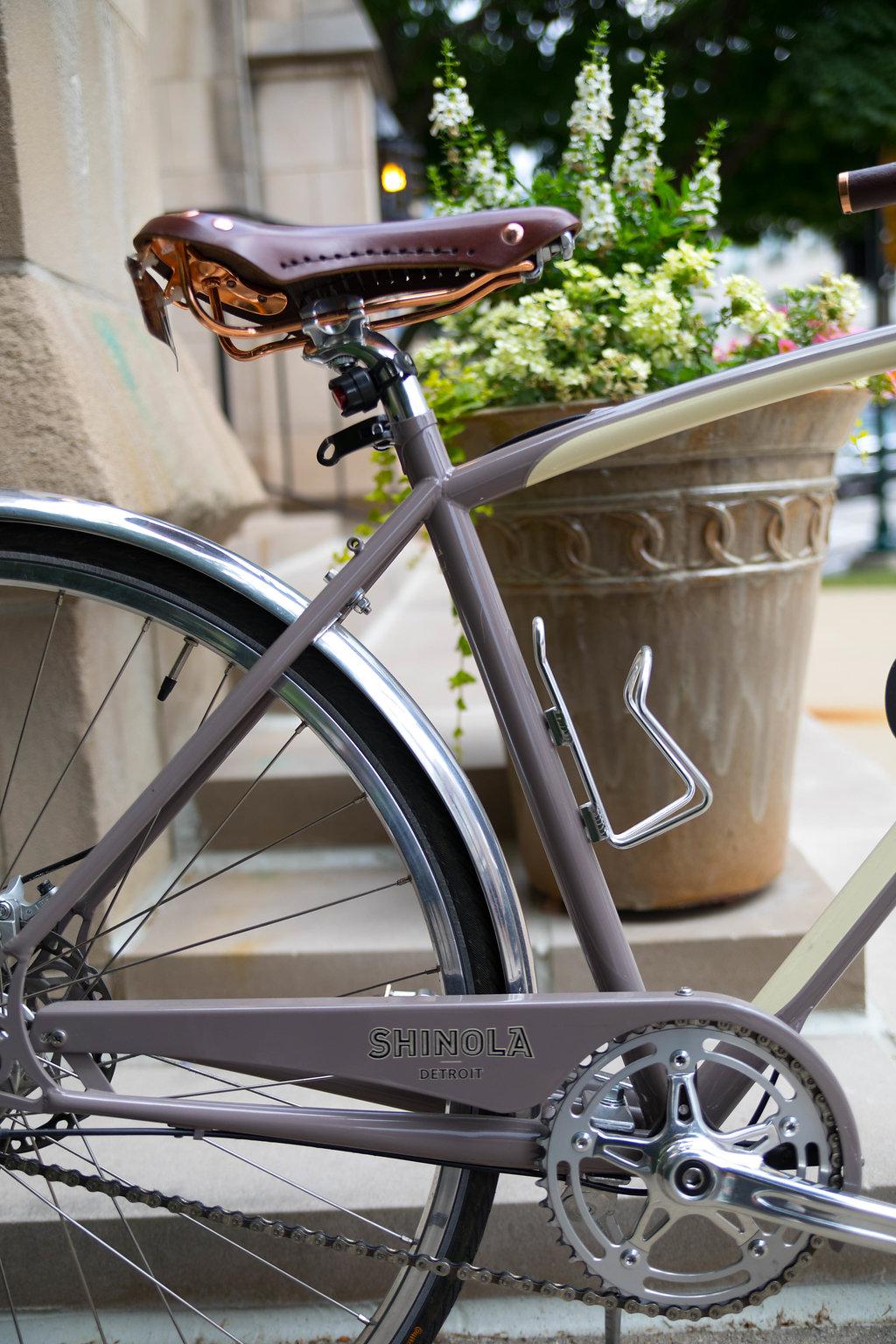 Shinola Detroit Bixby Bike Ride at Townsend Hotel Birmingham Michigan