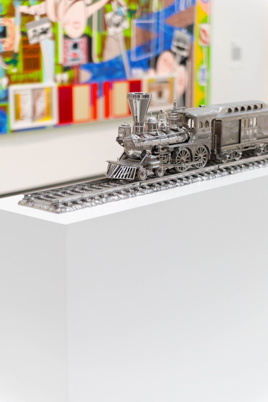 Jim Beam — J.B. Turner Train Filled with Bourbon by Jeff Koons at The Broad Museum