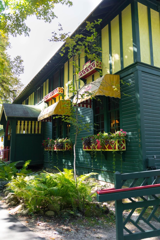 Photo of Woods Restaurant on Mackinac Island, Michigan Grand Hotel by Annie Fairfax