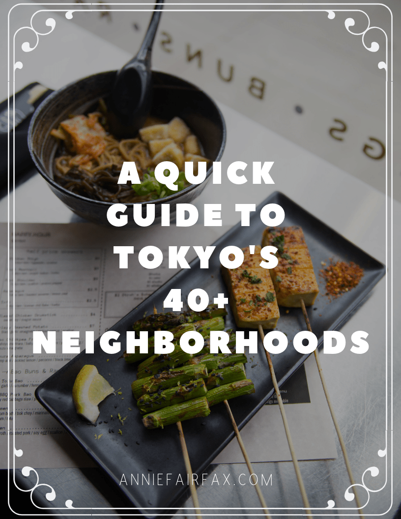 Guide to Understanding Tokyo's 47 Neighborhoods and What's Inside Each