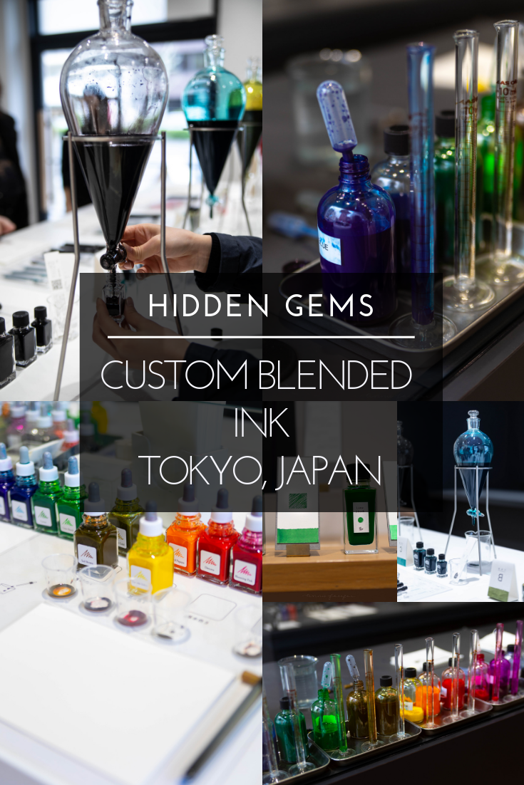 Hidden Gems: Custom Blended Ink in Tokyo, Japan
