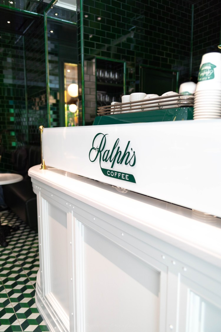 Luxury Restaurants of the World: Ralph's Coffee by Ralph Lauren in Tokyo