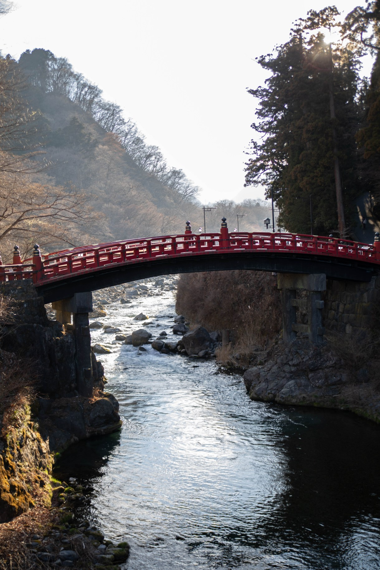 Red Shinkyo Bridge in Nikko, Japan, the Ultimate Travel Guide Written, Researched, and Photographed by Travel Writer & Photographer Annie Fairfax