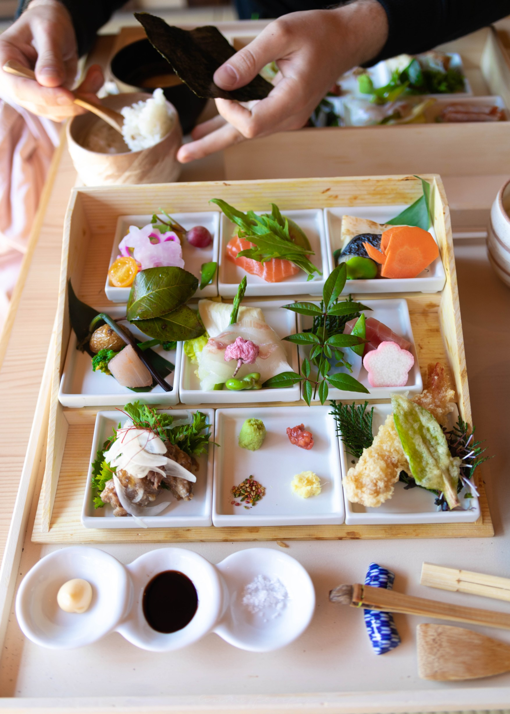 Luxury Restaurants Of The World Syoka Te Ori Sushi In Nara