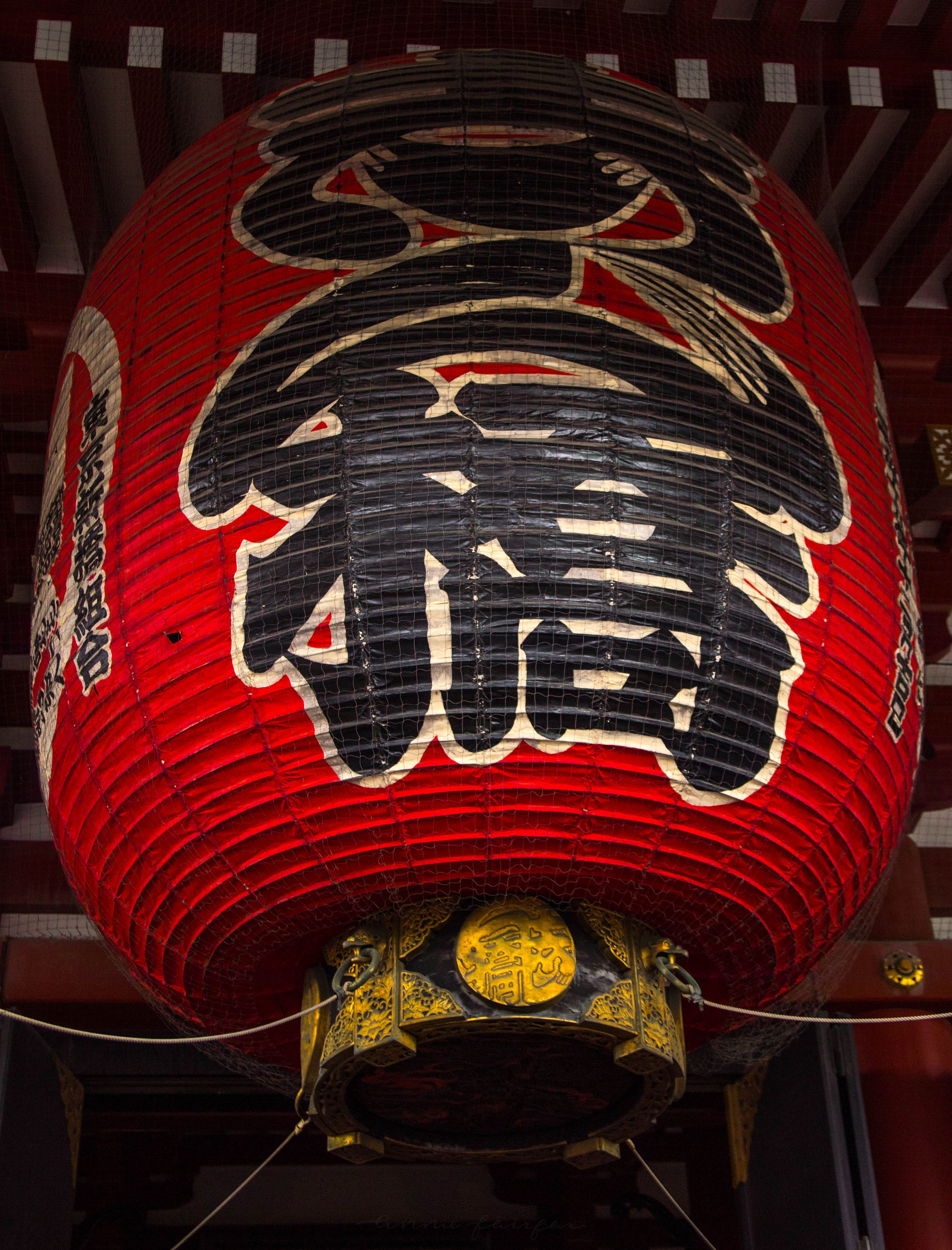 Big Red Lantern Senso-Ji Temple Asakusa Kannon Buddhist Temple in Tokyo, Japan Shrine with Massive Red Japanese Paper Lanterns Near Tokyo Sky Tree Goddess of Mercy by Annie Fairfax Where to Visit Tokyo Things to do In Tokyo, Japanese Travel Tourism Trip Inspiration Pictues of tokyo Japan