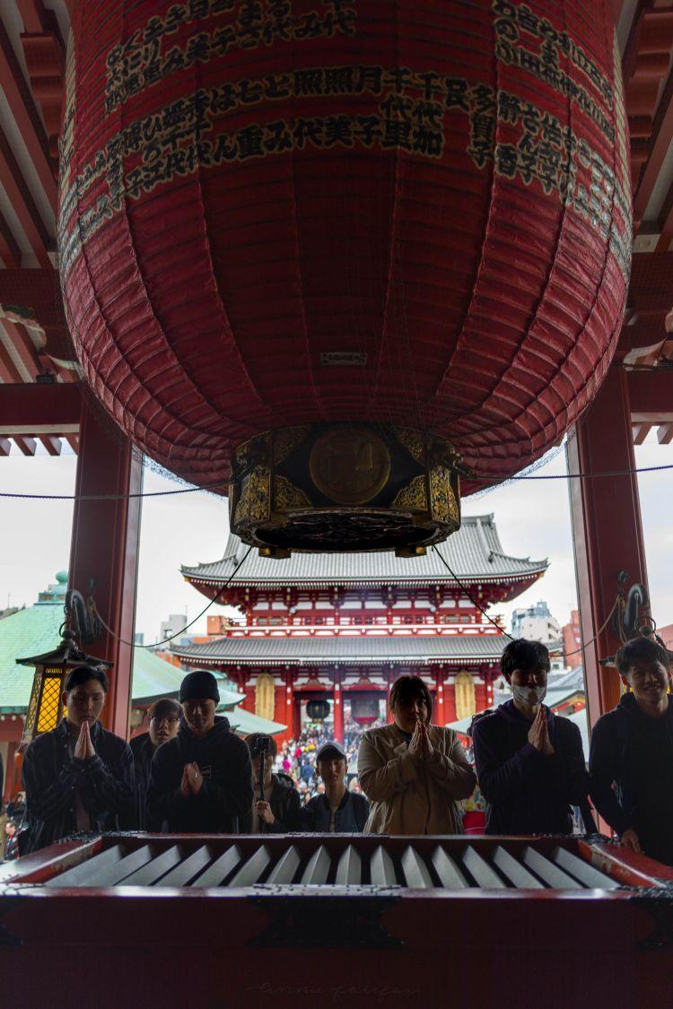 Visiting Senso-Ji Temple in Tokyo, Japan