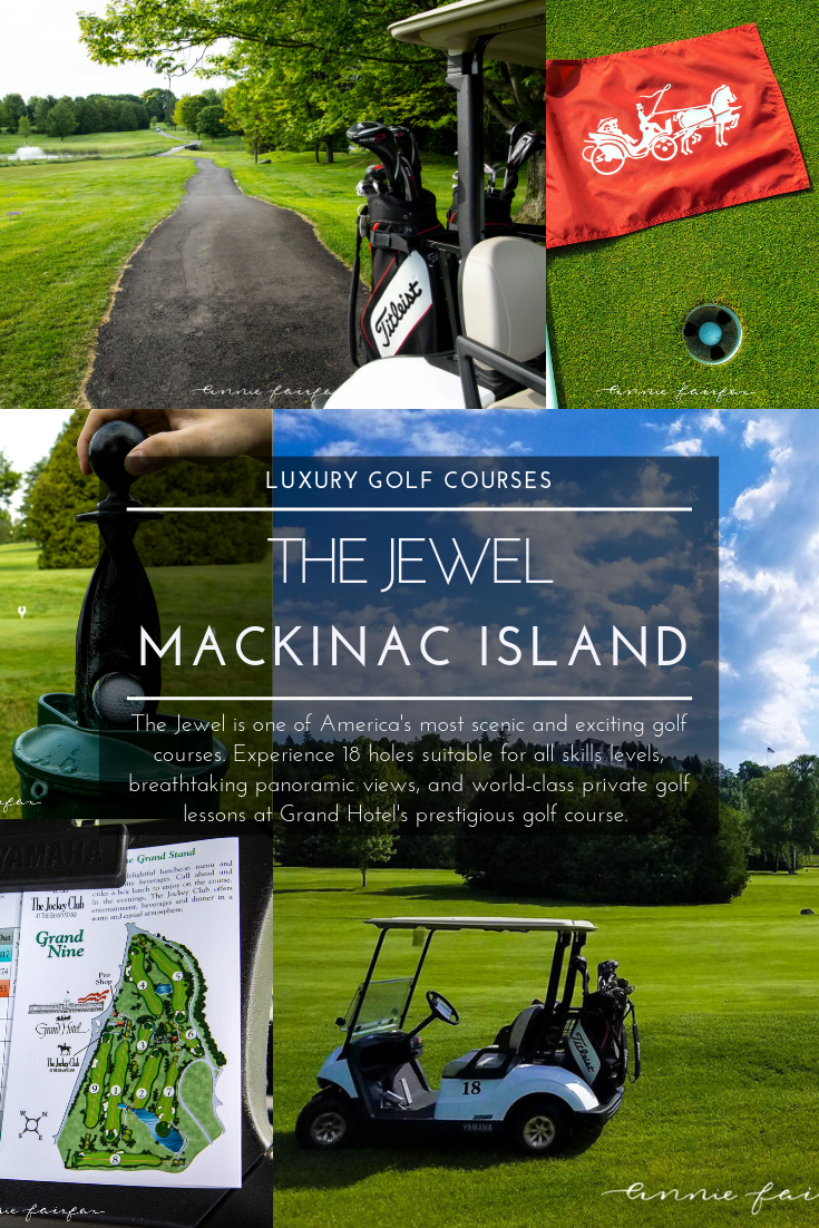 Luxury Golf Courses: The Jewel on Mackinac Island Grand Hotel Michigan