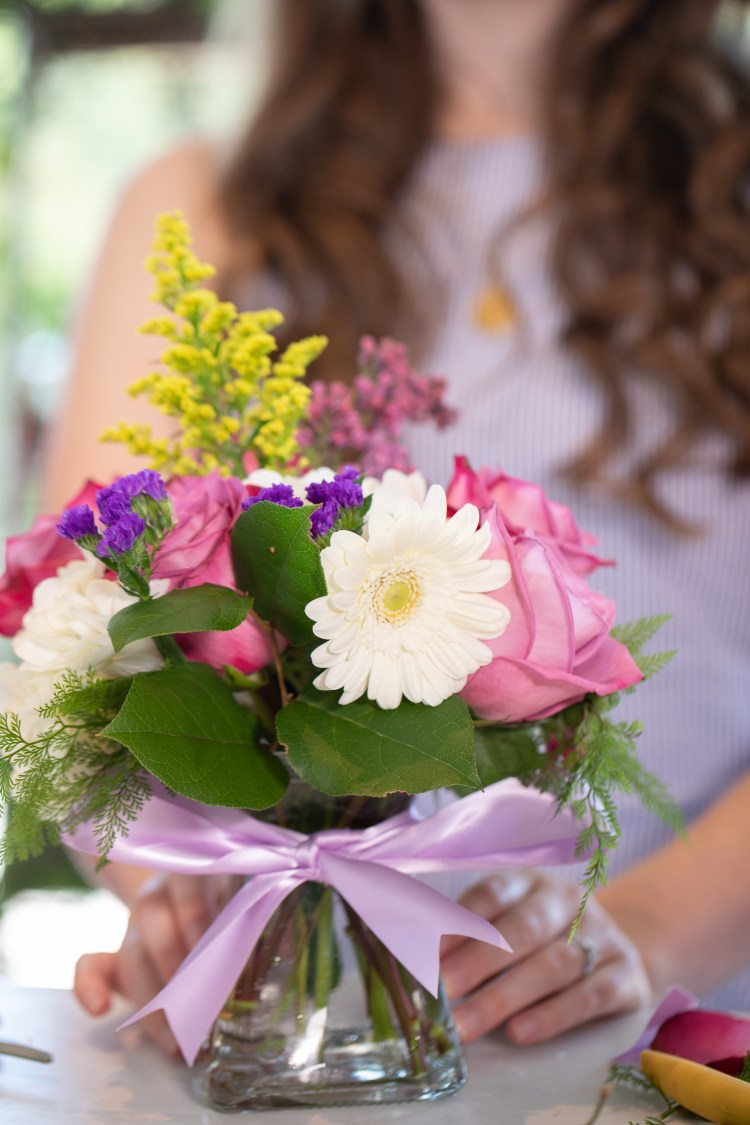 How to Create a Spring Bouquet (with Margaret's Garden at Grand Hotel)