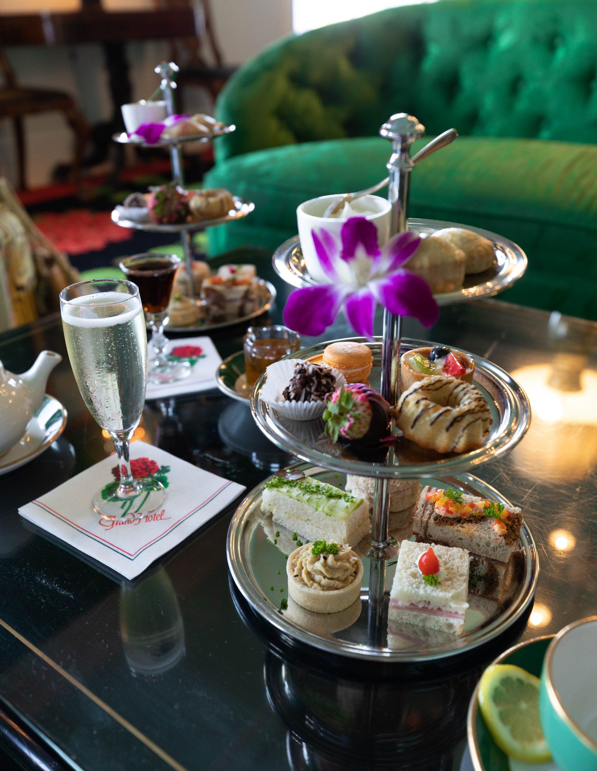 Afternoon Tea Grand Hotel Where to Eat on Mackinac Island