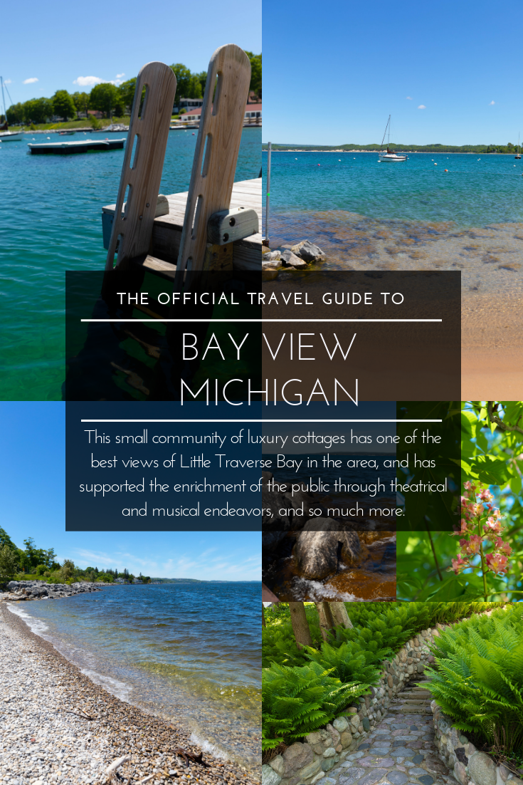 Bay View, Michigan The Official Travel Guide What to Eat, See, and Do in Bay View Northern Michigan Luxury Resort Community