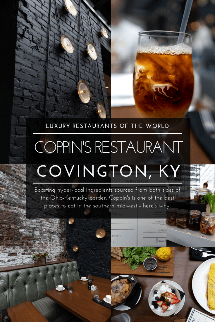 Luxury Restaurants of the World: Coppin's Restaurant in Covington, KY by Annie Fairfax