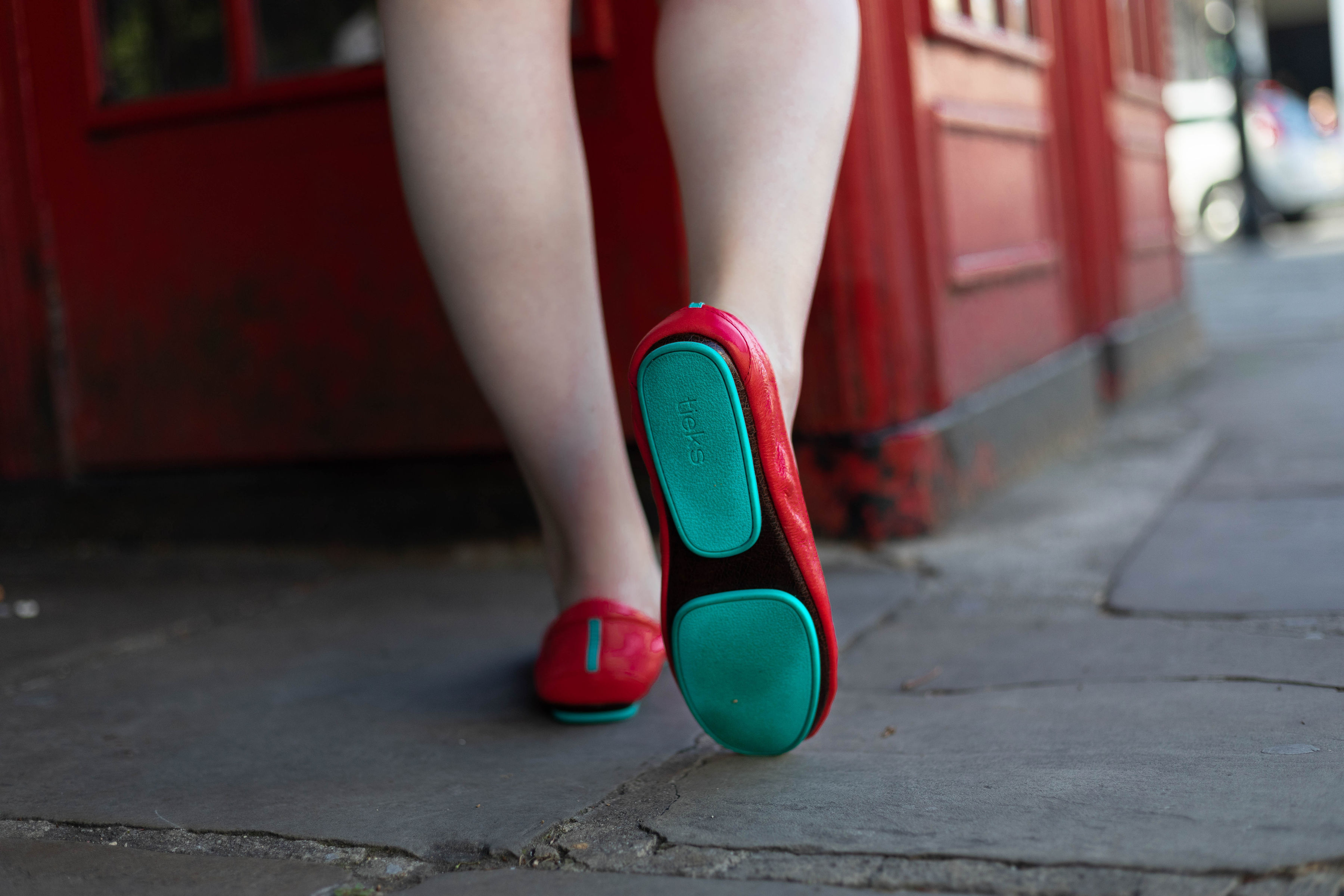 London Reds with From St. Xavier and Tieks