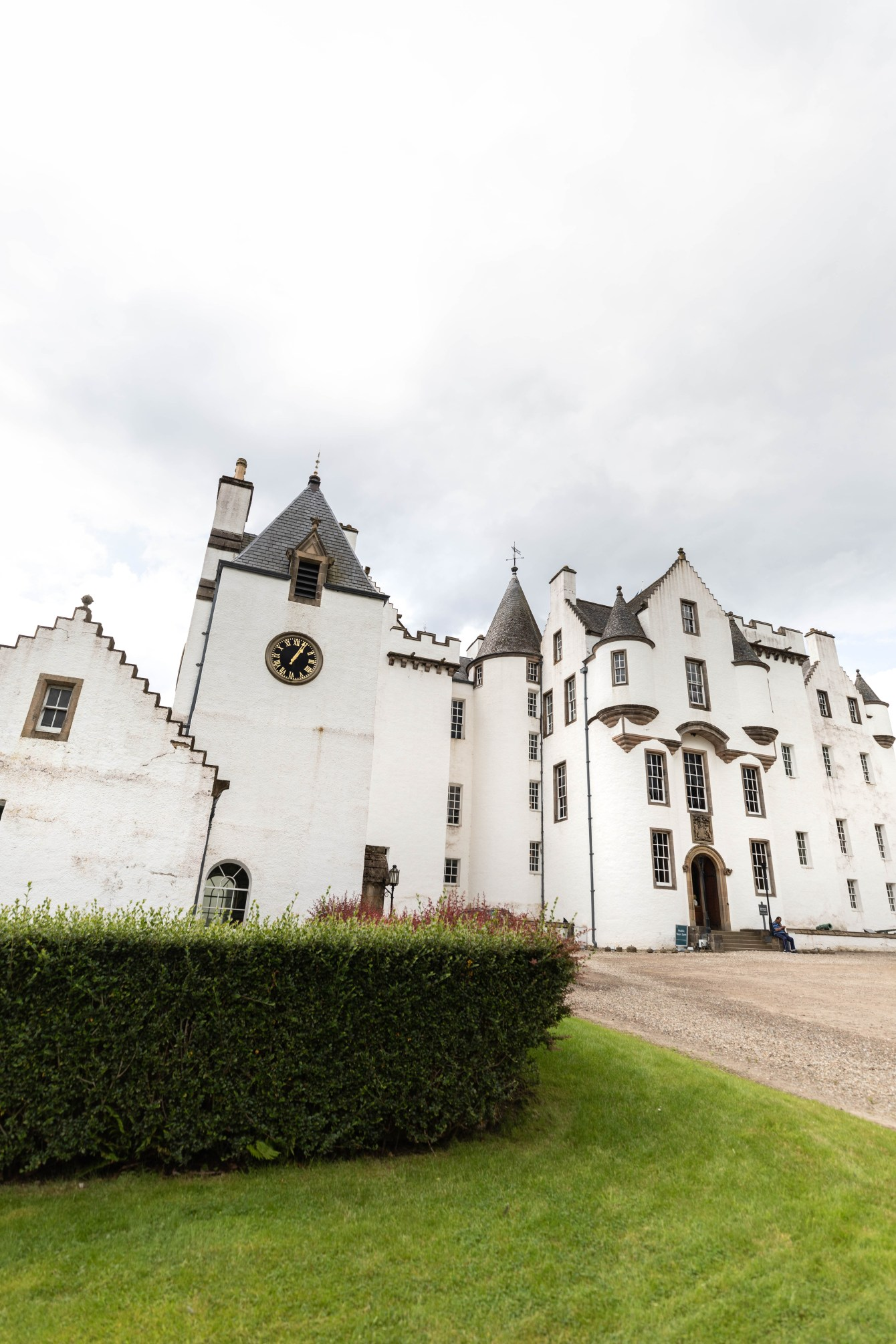Blair Castle in Glen Garry Blair Atholl, Scotland Beautiful European Castles National Gardens United Kingdom by Annie Fairfax