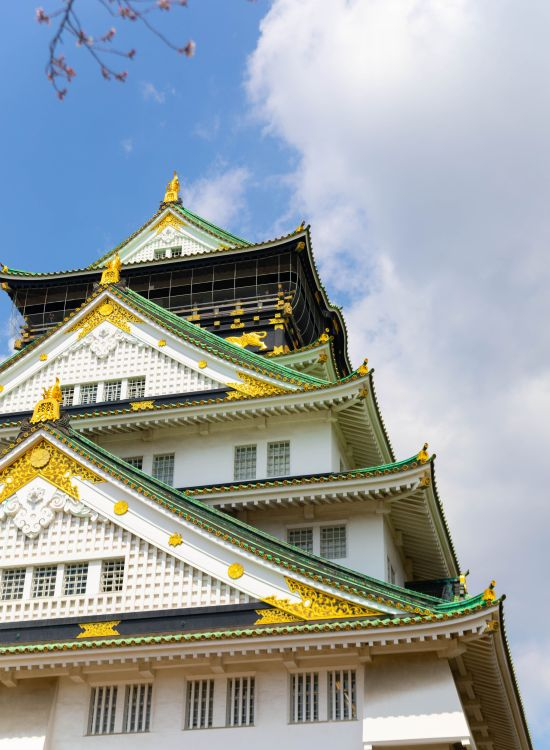 Osaka Castle in Osaka, Japan History Architecture and Cherry Blossom Viewing in this iconic feudal Japanese Imperial Castle Historical Buildings in Japan Built in 1583
