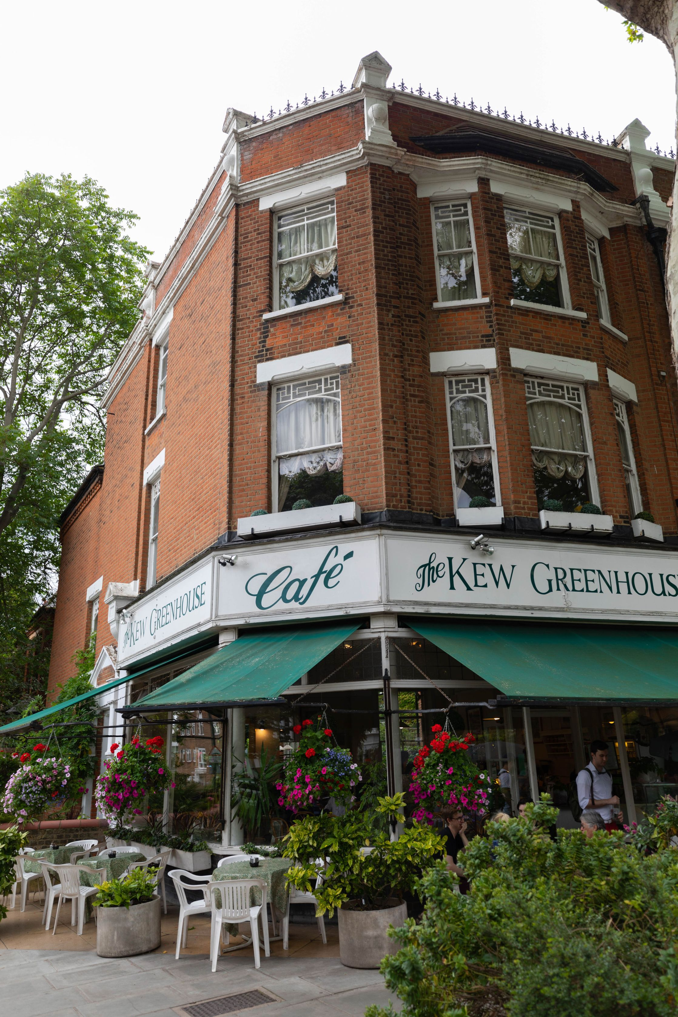 The Kew Greenhouse Café London City Guide the Official Travel Guide of London, England