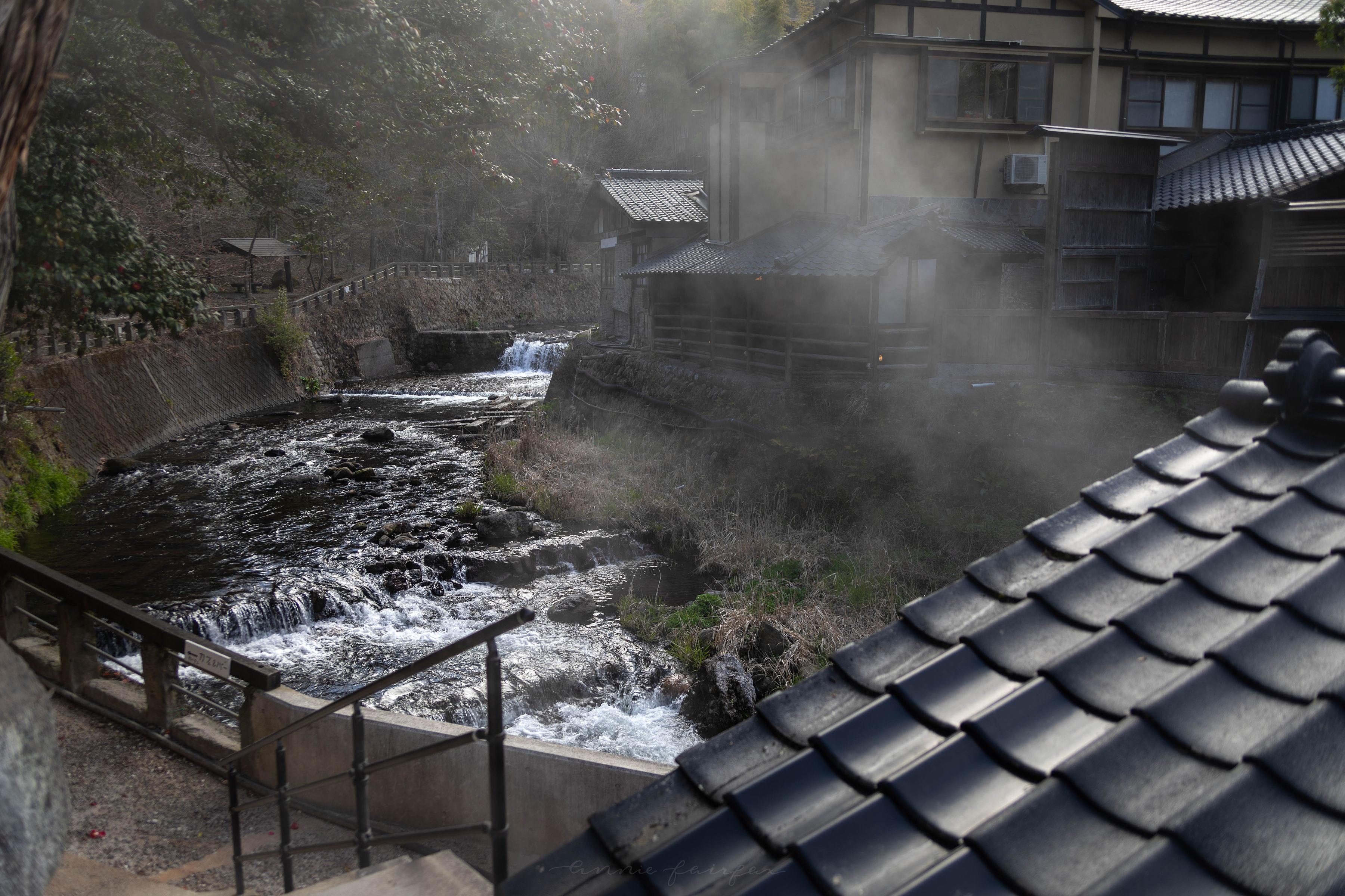 Hot Springs Resort on River Chikugo Luxury Hotels of the World Fujiya Ryokan Kurokawa Onsen, Southern Japan