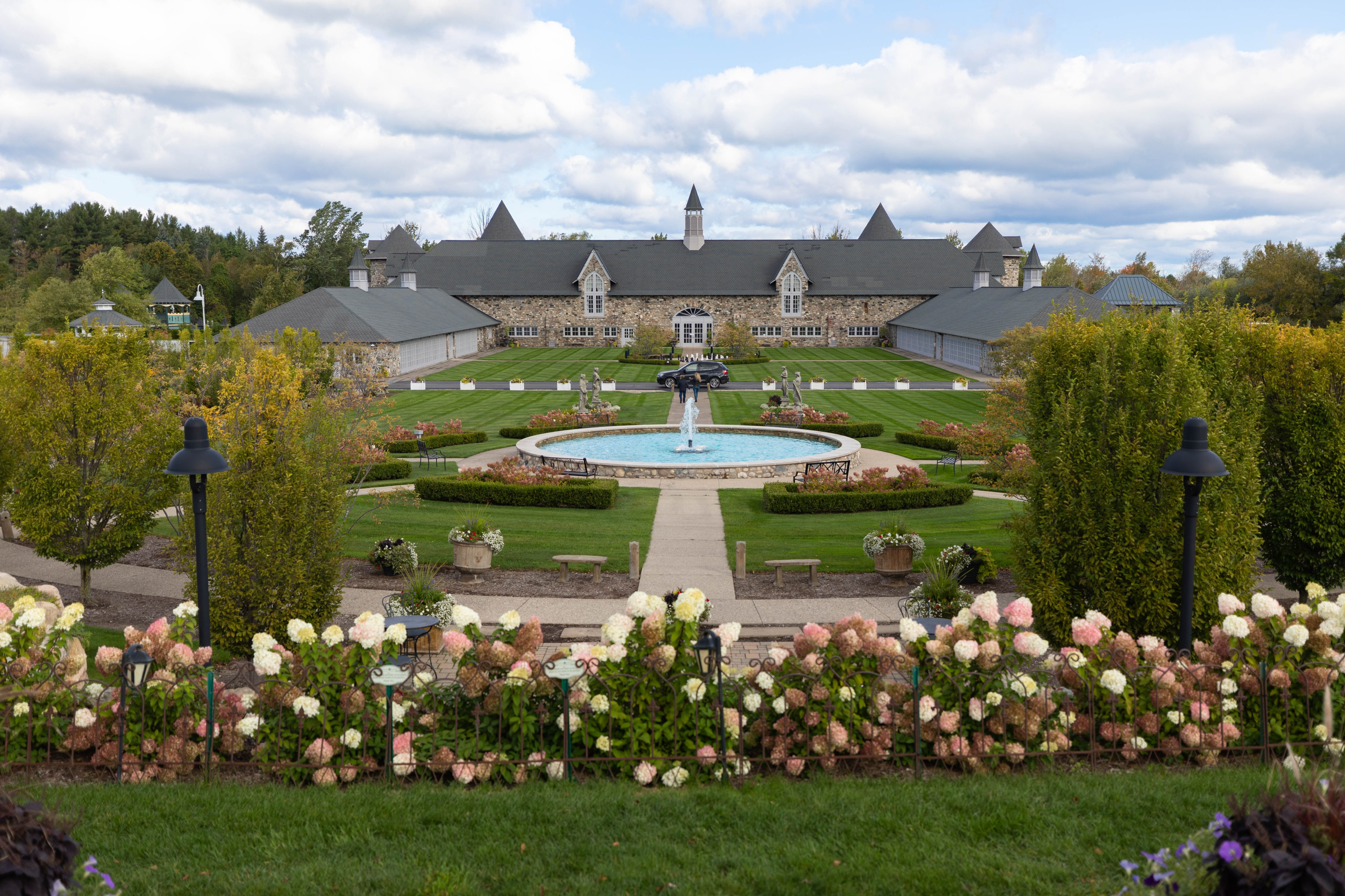 Castle Farms Michigan's Most Beautiful Castle with Expansive Gardens in Charlevoix, Michigan