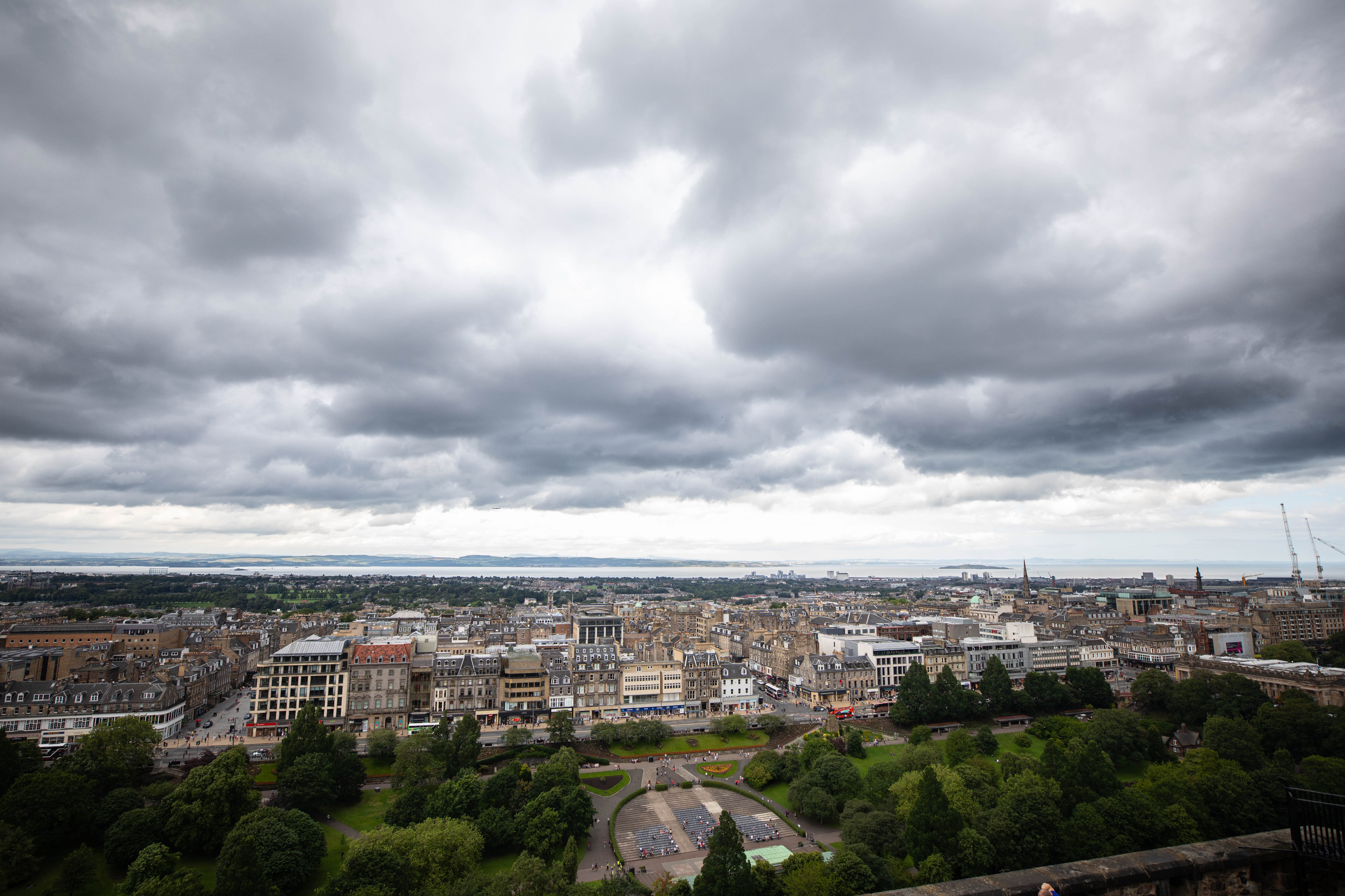 View from Edinburgh Castle Scotland's Most Beautiful Castles Scotland's Capital City Incredible Architecture Things to do in Edinburgh by Annie Fairfax @AnnieFairfax