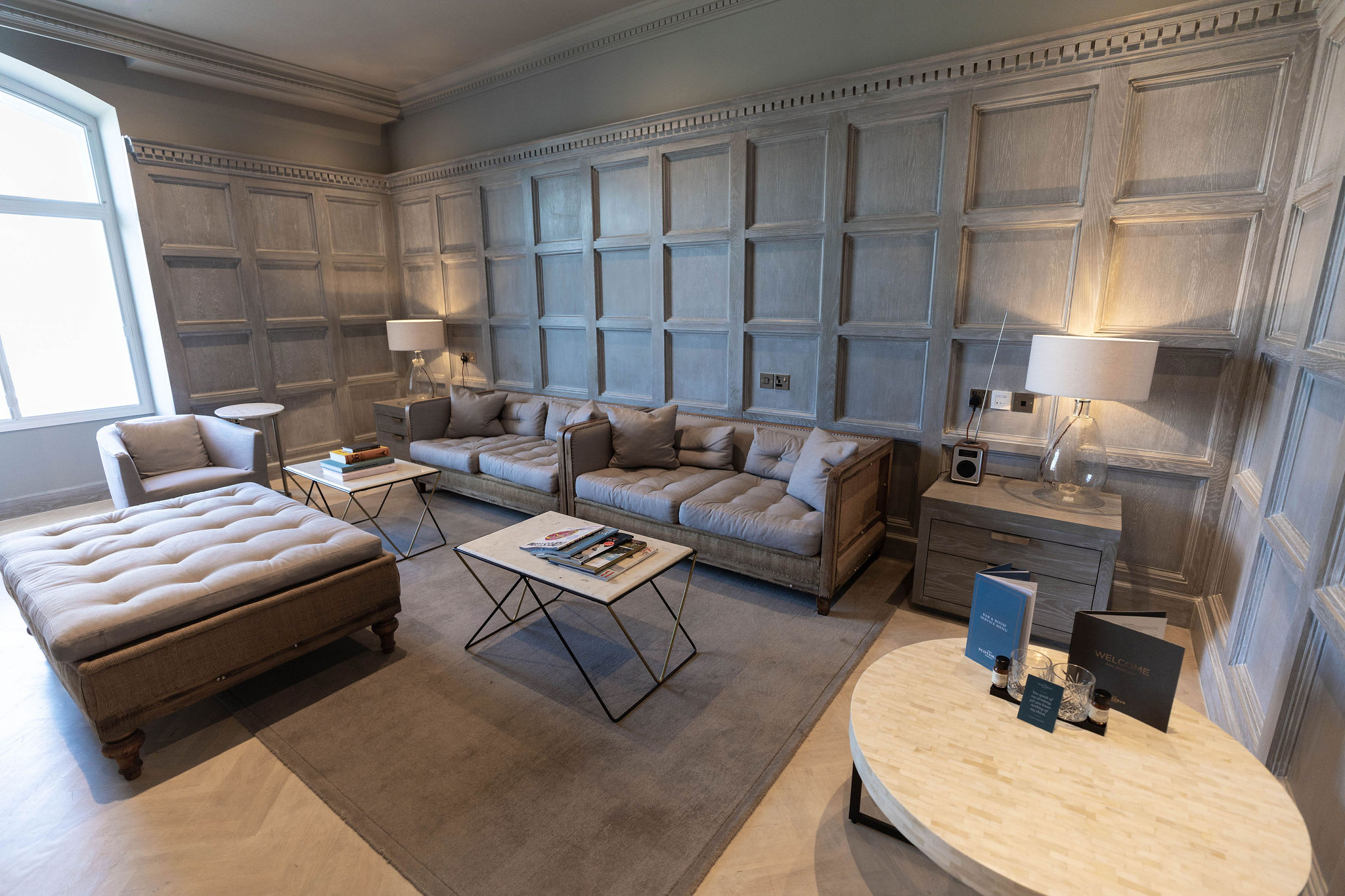 Sitting Room Photos of the Headline Suite at The Scotsman Hotel in Edinburgh, Scotland