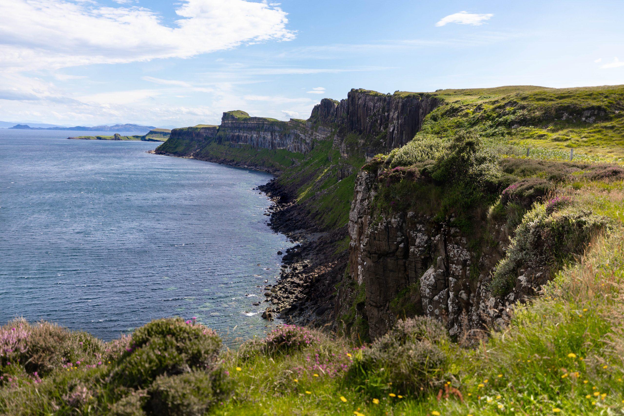 Kilt Rock on the Isle of Skye Scotland Scottish Highlands Photographed by Annie Fairfax AnnieFairfax.com