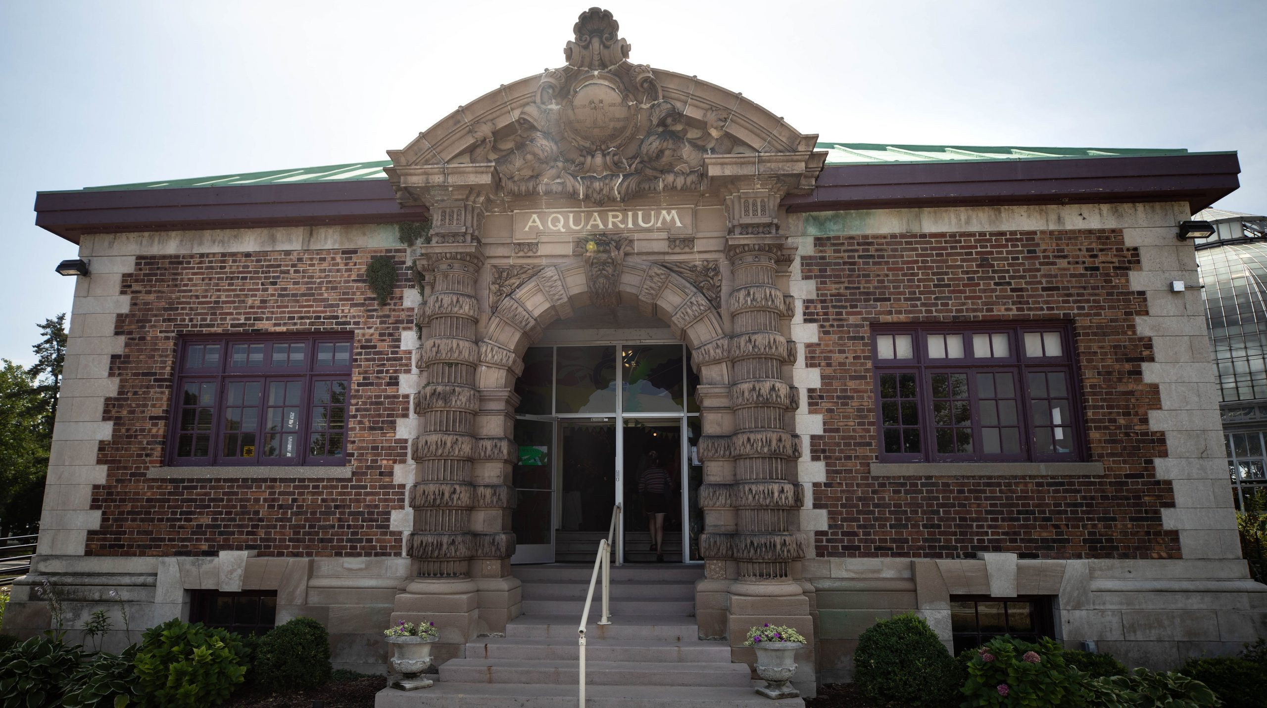 Belle Isle Aquarium in Detroit Michigan by Annie Fairfax