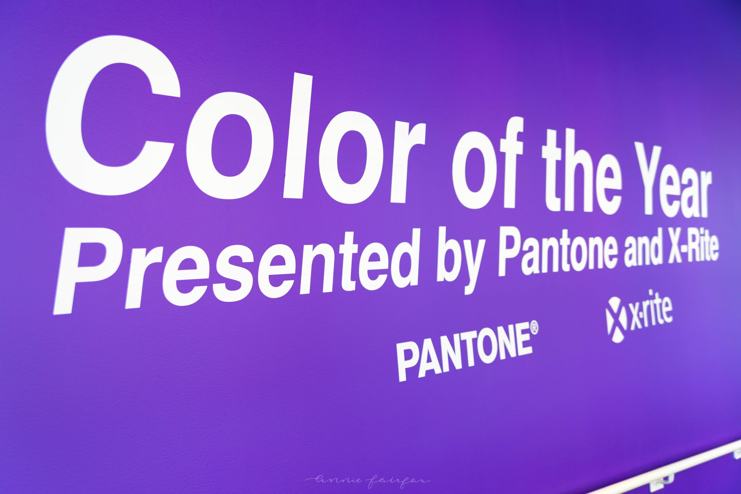 UICA Urban Institute for Contemporary Art in Grand Rapids Michigan Pantone Color of the Year Ultra Violet Exhibition