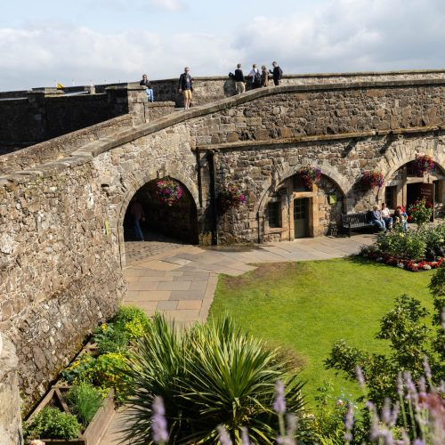 A Visit to Stirling Castle & Gardens in Stirling, Scotland