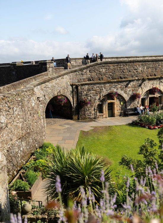 Visit Stirling Castle Ramparts and Castle Garden Researched, written & Photographed by Annie Fairfax Scotland Travel Guides Itinerary Inspiration