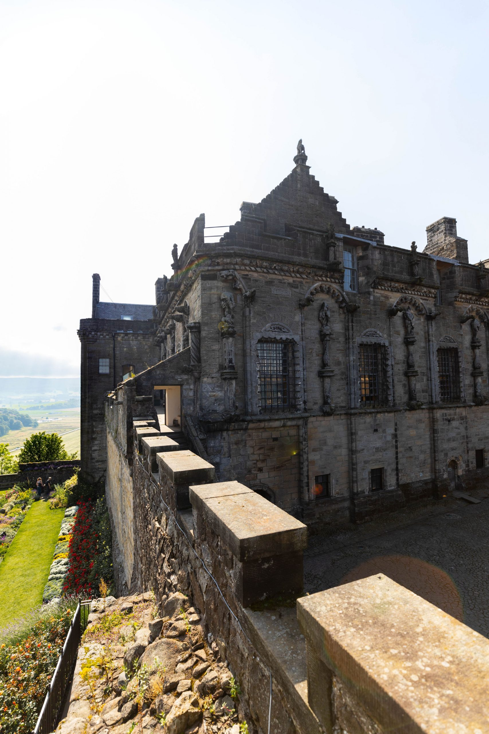 Visit Stirling Castle Ramparts and View Researched, written & Photographed by Annie Fairfax Scotland Travel Guides Itinerary Inspiration