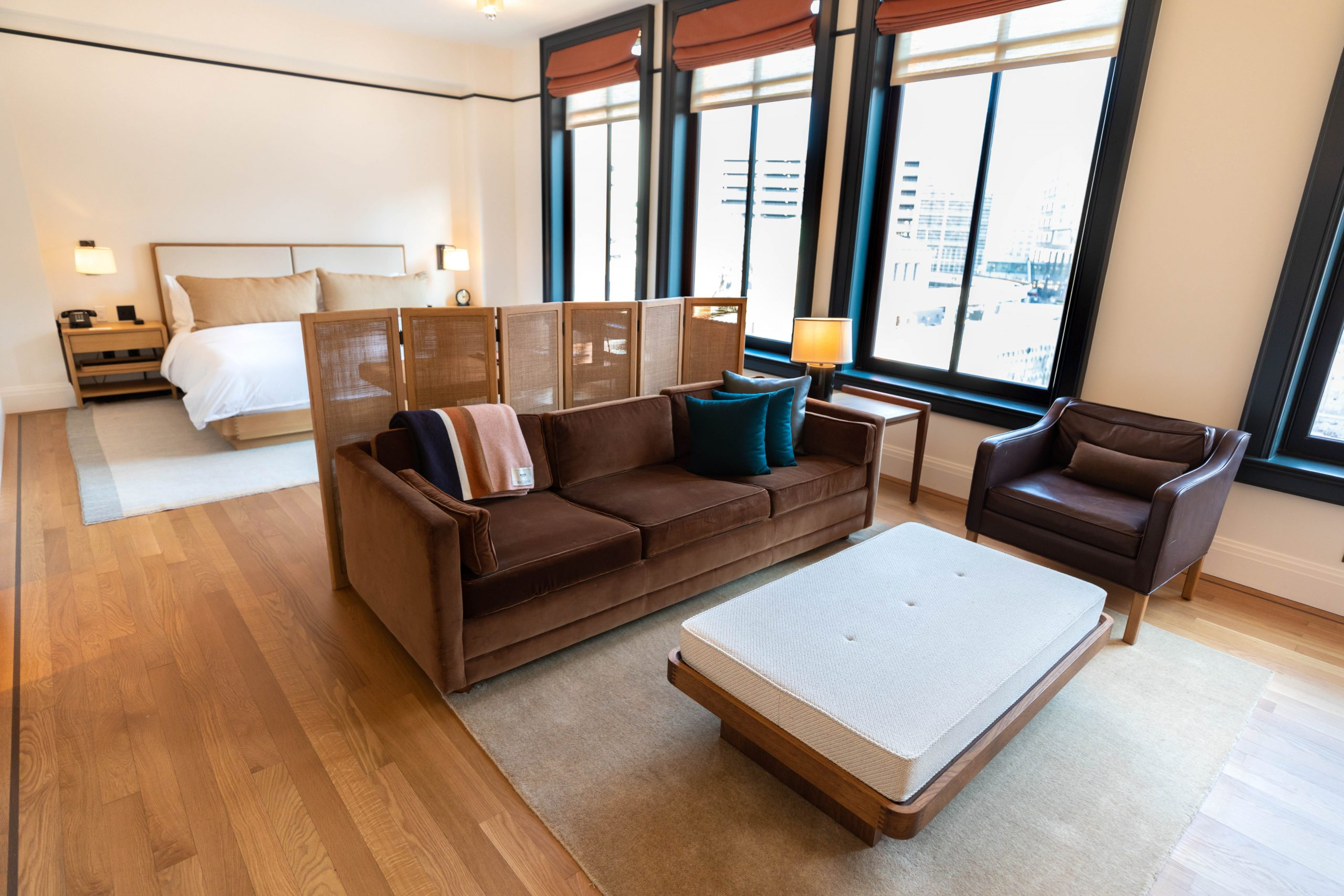 Detroit's Luxurious Shinola Hotel on Woodward Ave Penthouse Suite