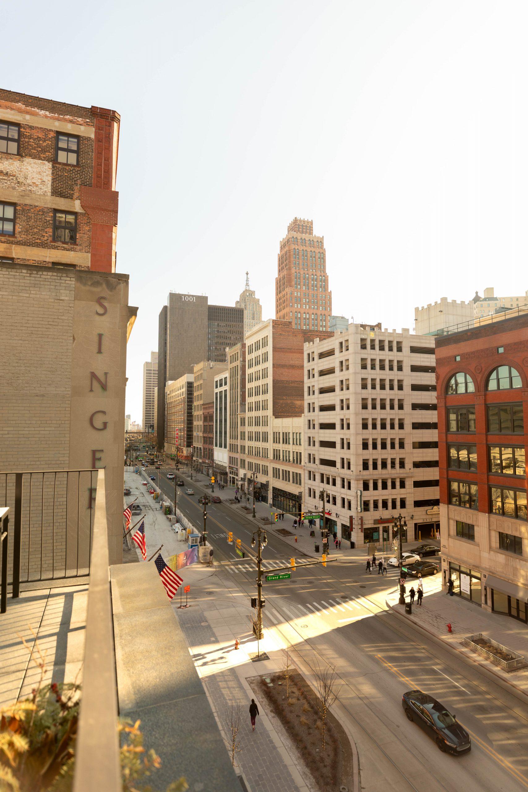 Detroit's Luxurious Shinola Hotel on Woodward Ave Penthouse Suite
