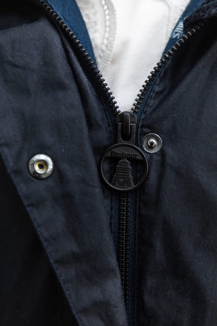 The Perfect Barbour Rain Jacket