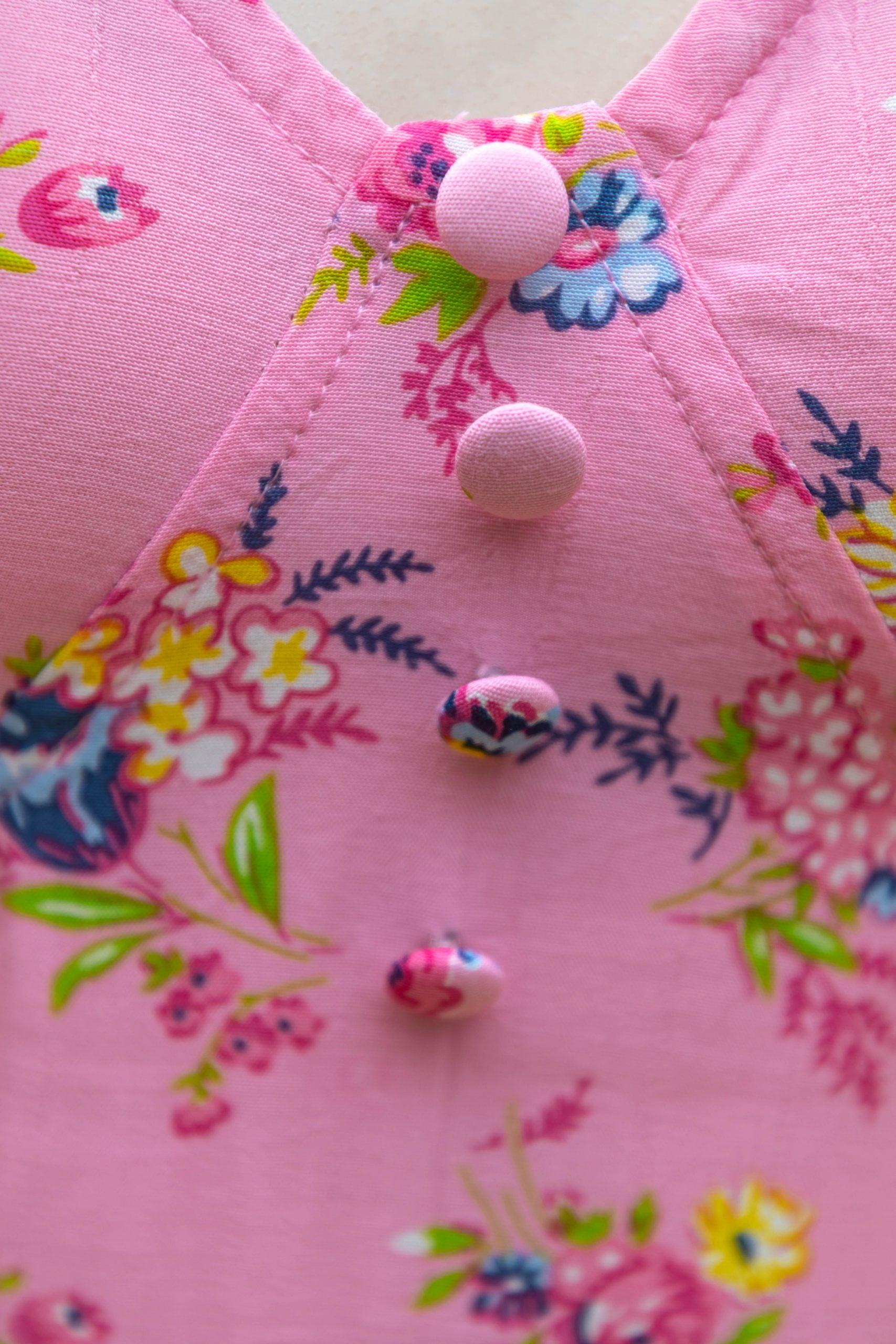 Faithful The Brand Pink Floral Daija Midi Dress Worn by Annie Fairfax