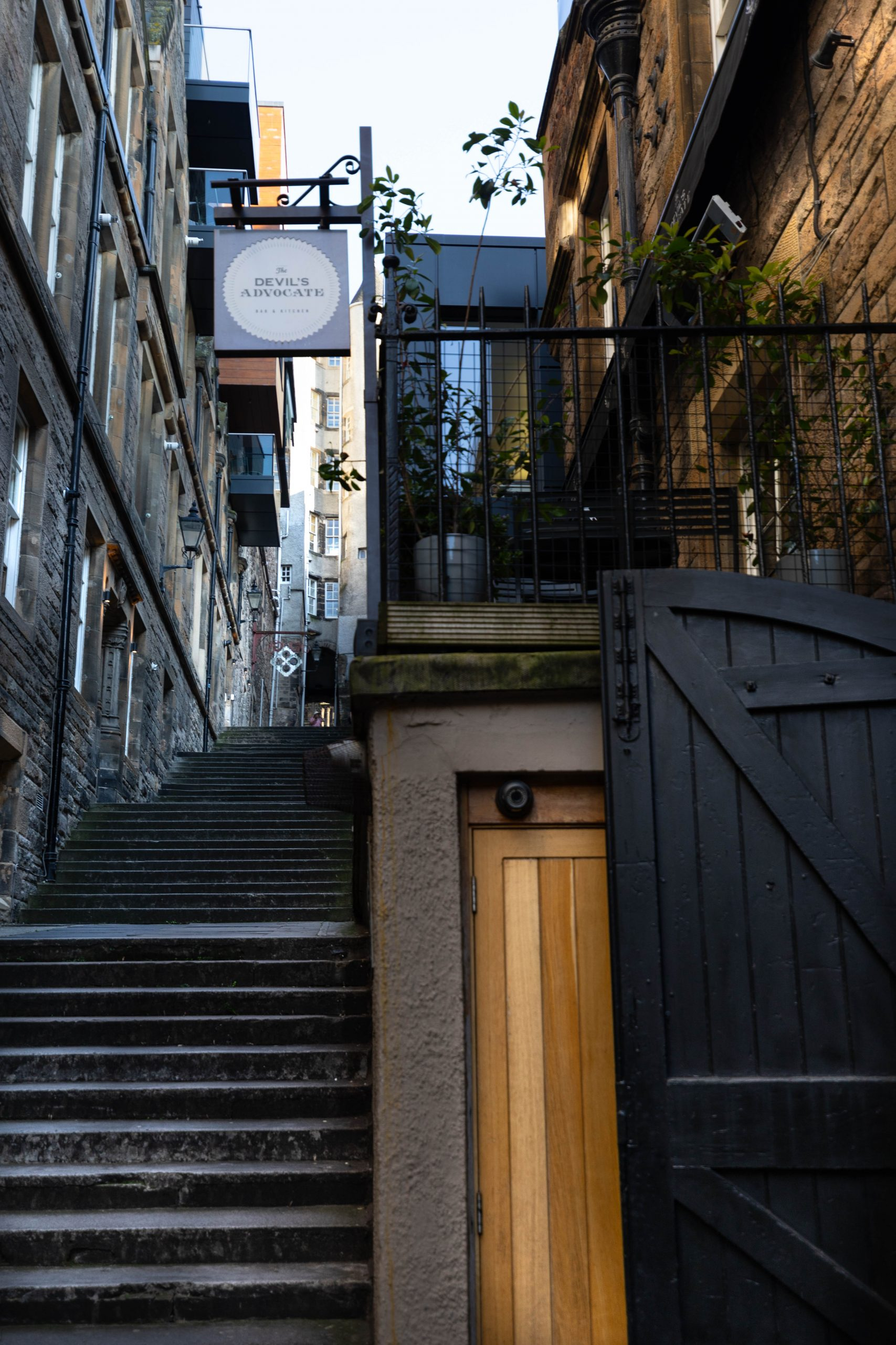 The Devil's Advocate Bar & Kitchen Scottish Pub in Edinburgh Old Town Luxury Travel Guide by Annie Fairfax
