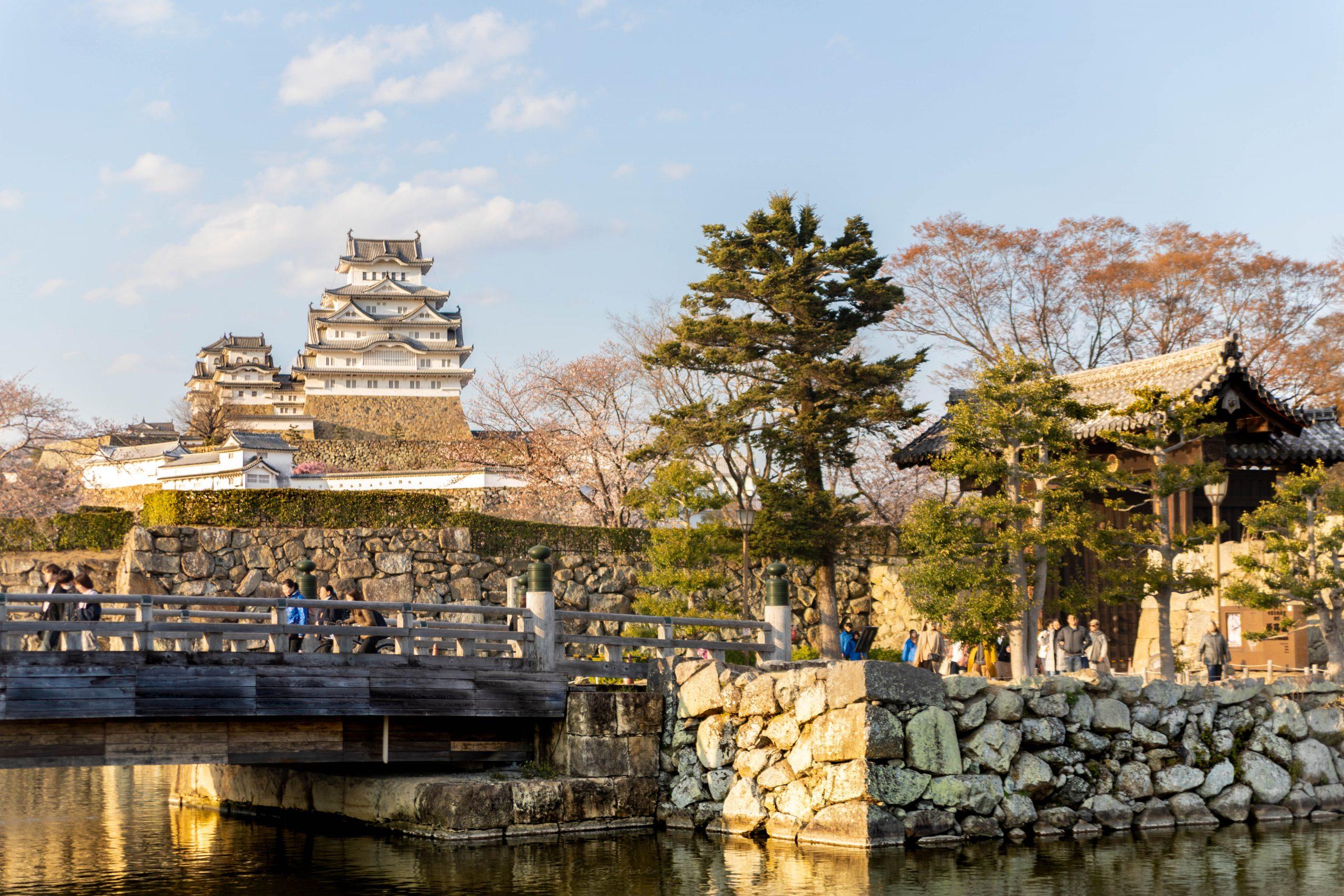 Himeji Castle Cherry Blossom Season in Hemeji Japan by @AnnieFairfax