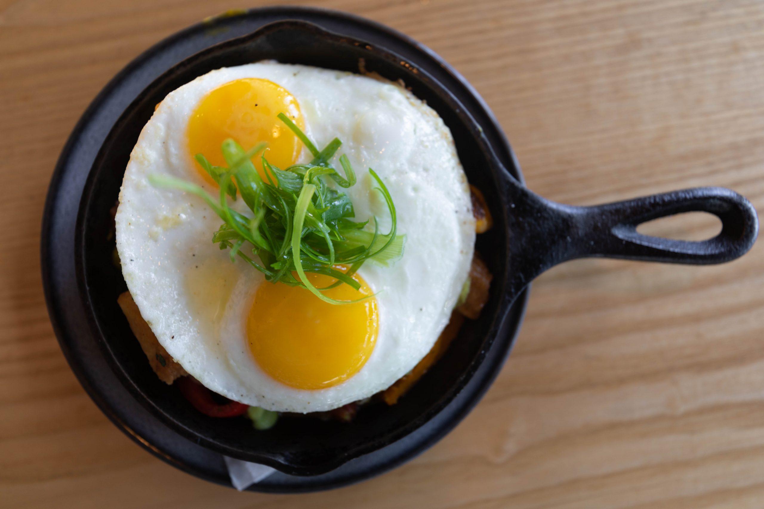 Breakfast Skillet at Sawyer Seattle Washington by Annie Fairfax