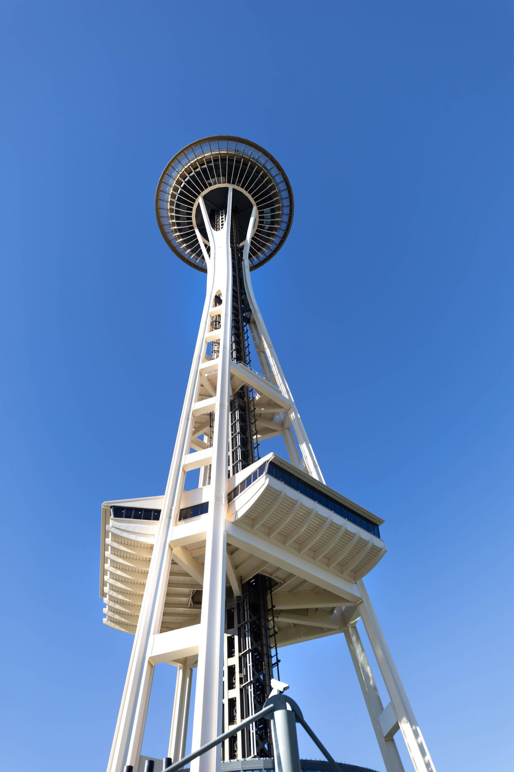 Seattle Space Needle in Seattle Washington by Annie Fairfax