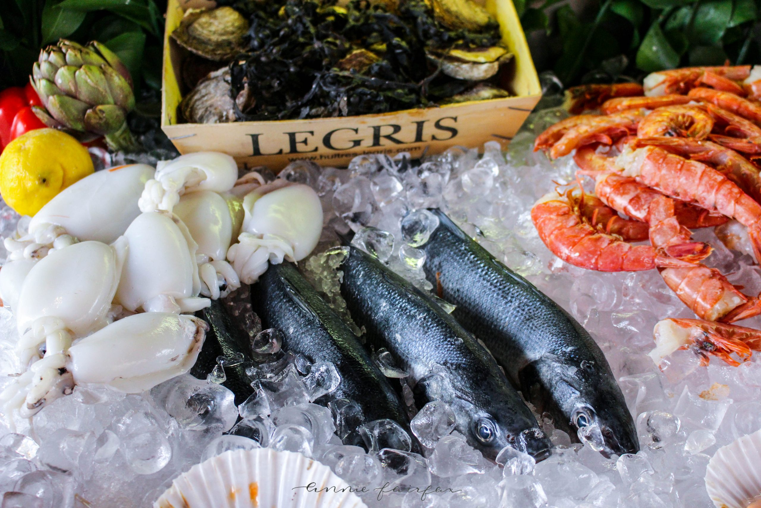 Fresh Seafood Venice Seafood Market The Best Things to Eat, See and Do in Venice Italy Luxury Travel Murano Murano by Annie Fairfax