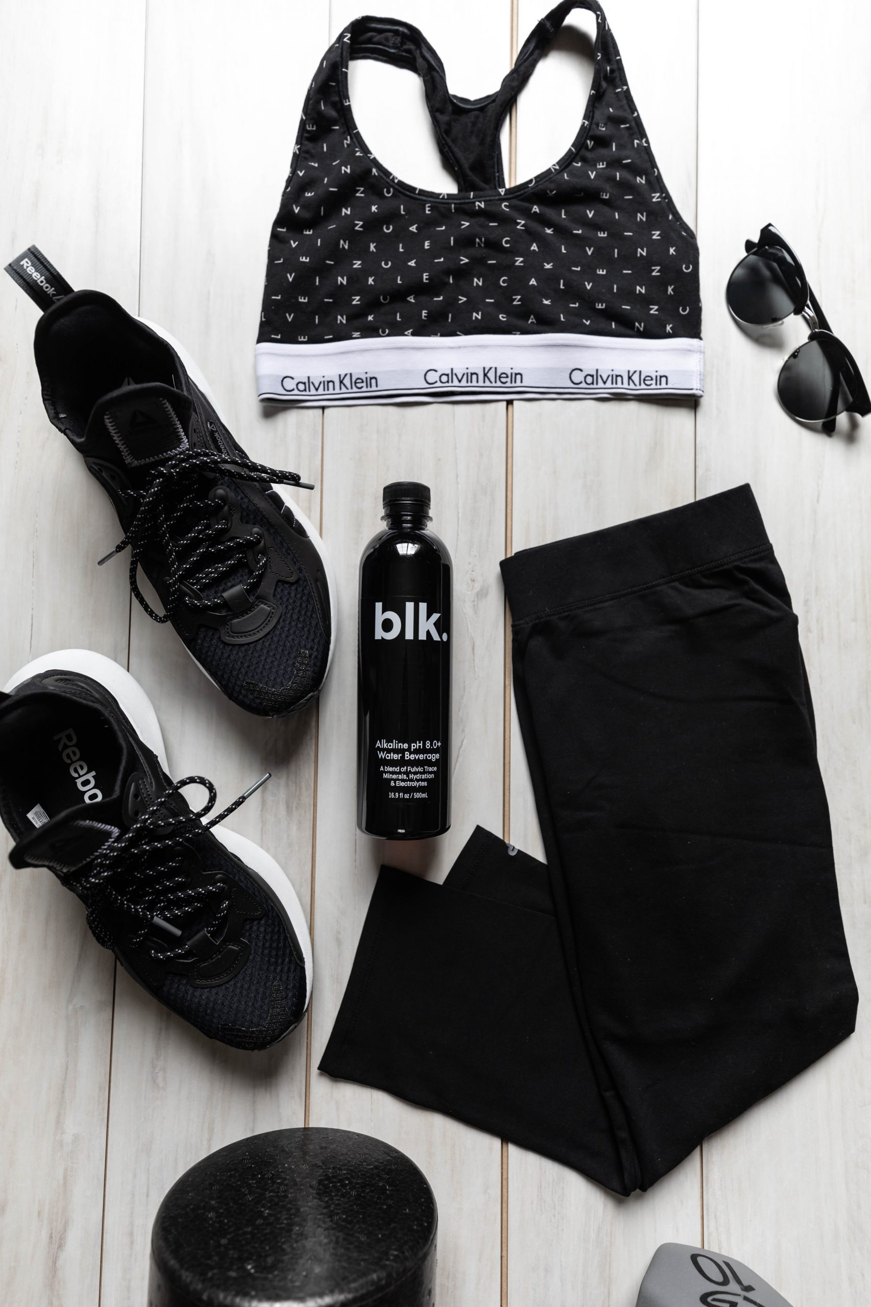 Alexis Ren 30 Day Workout Challenge Results & Review by Annie Fairfax Workout Aesthetic Outfit All Black Reebok, Calvin Klein, Pact