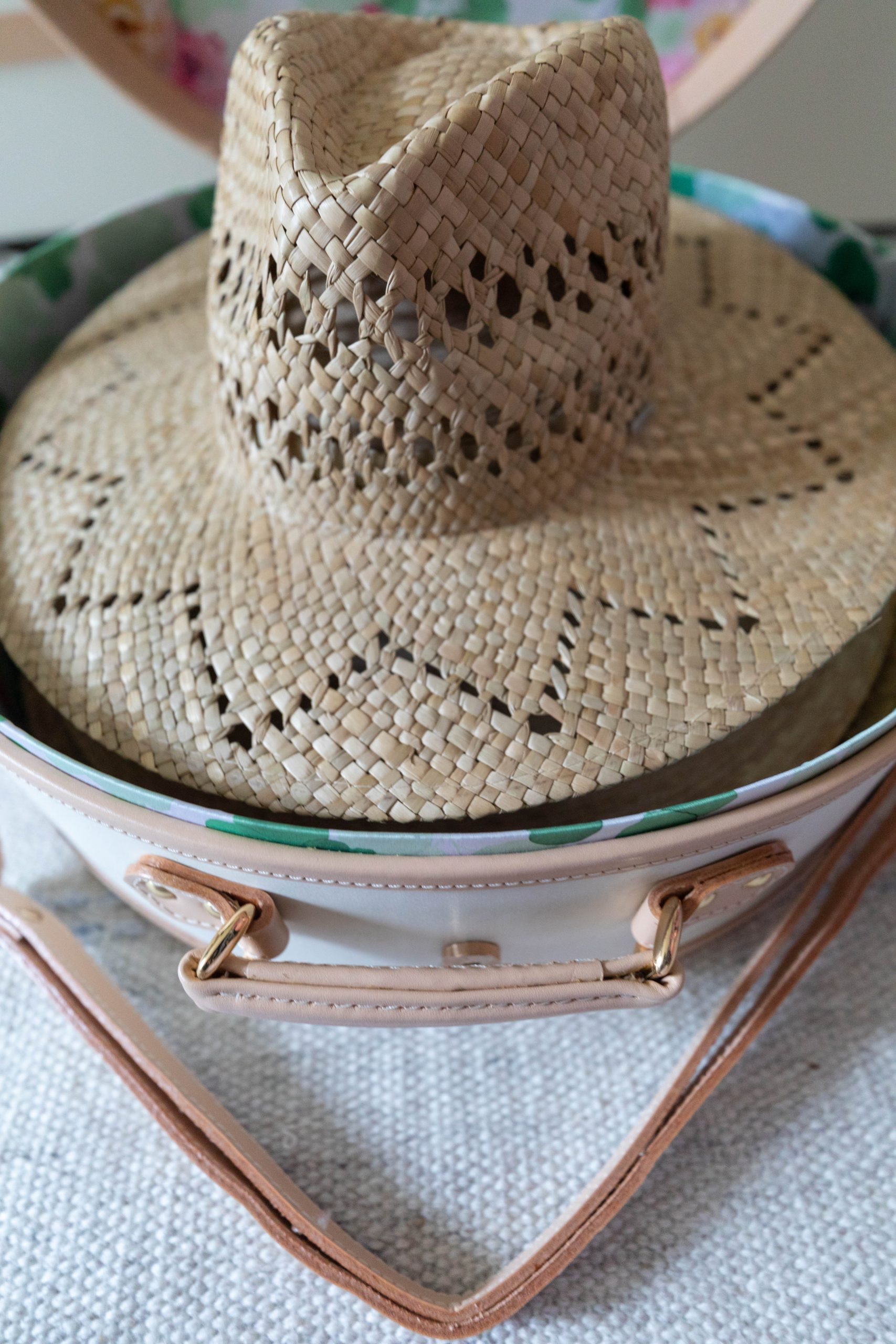 How to Pack a Hat Box & Tips for Traveling with Large Hats Streamline Luggage by Annie Fairfax
